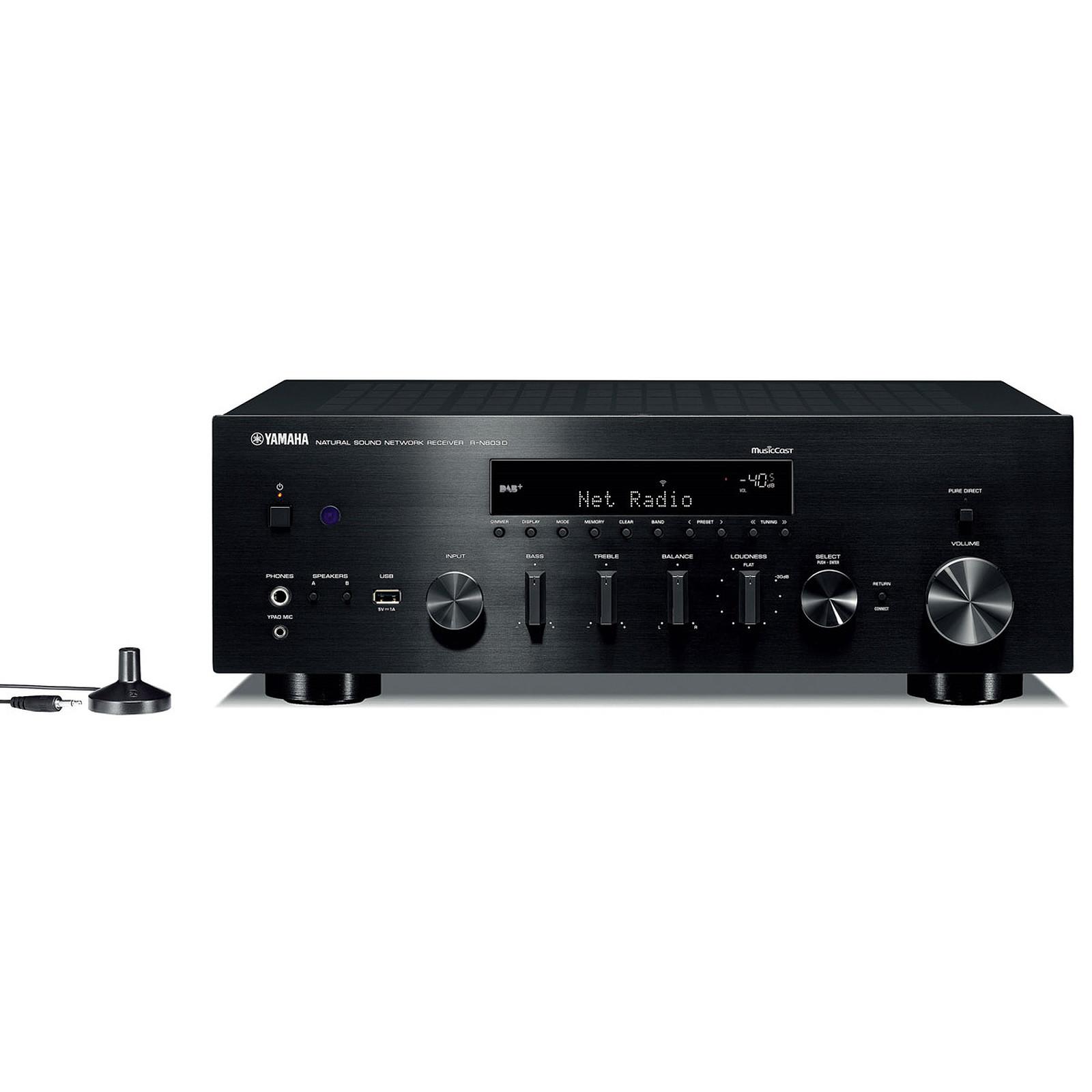 Yamaha MusicCast R-N803D Noir