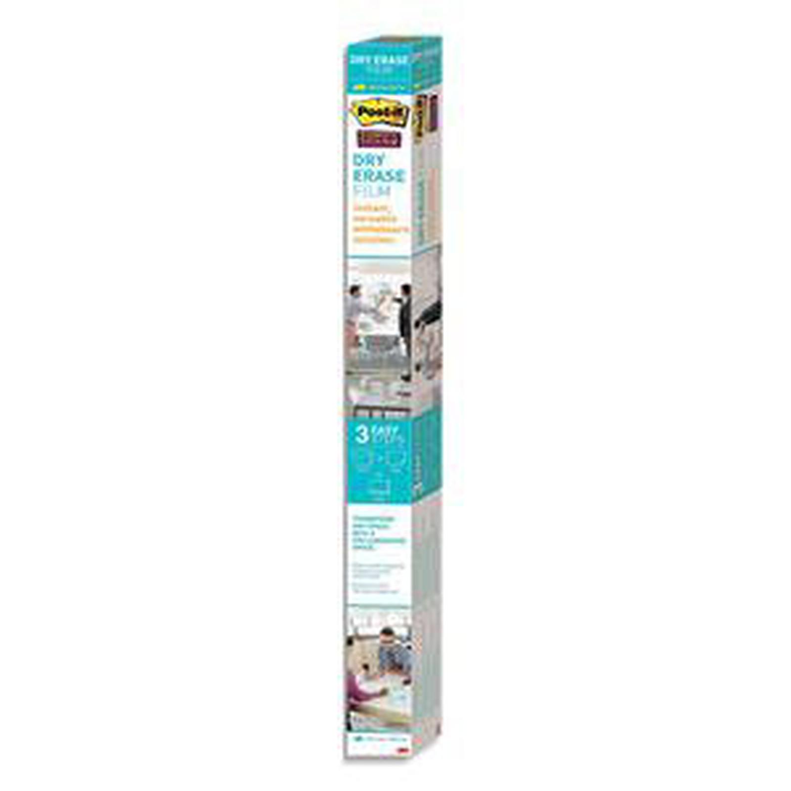 Post-it Tableau blanc en rouleau Super Sticky 609 mm x 914 mm