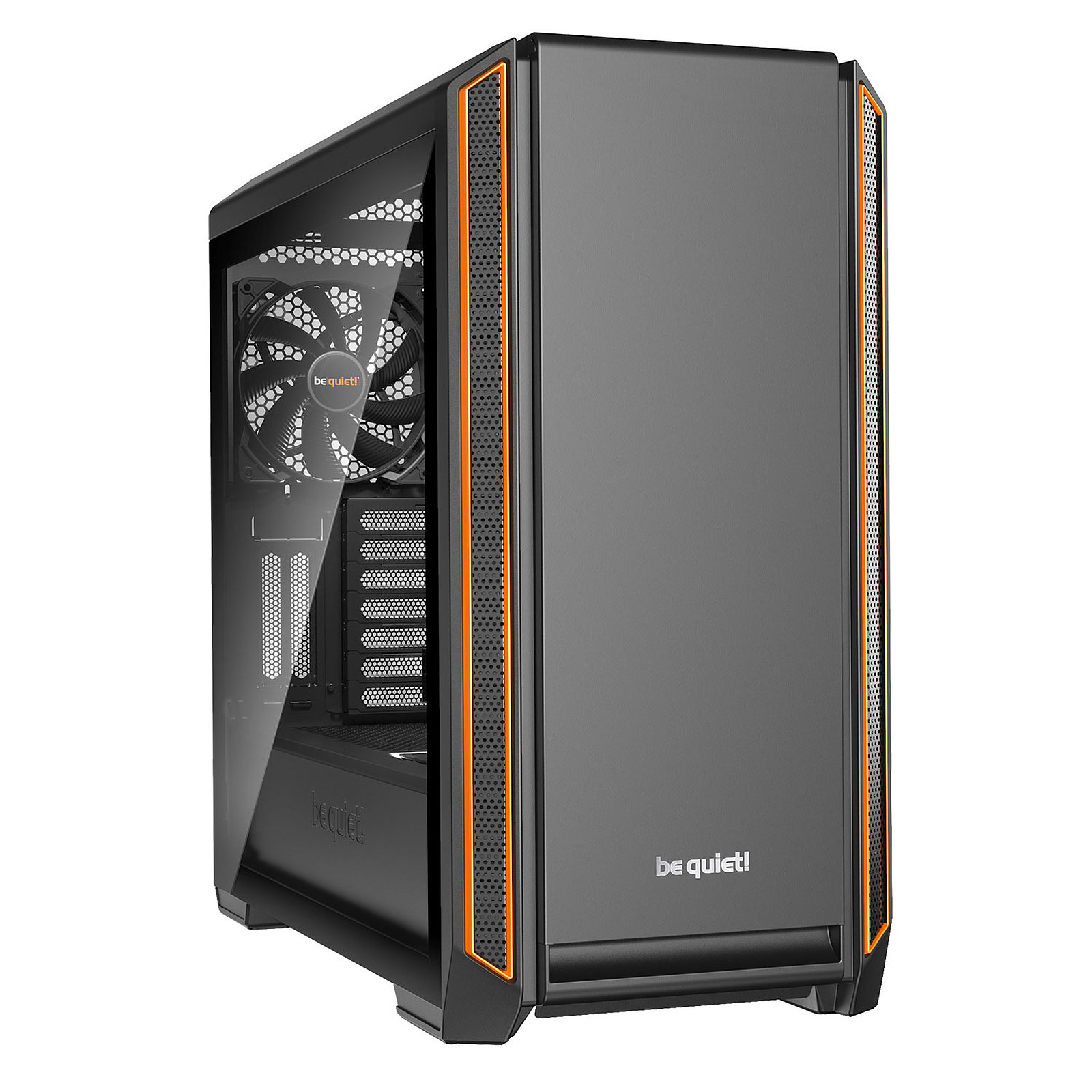 be quiet! Silent Base 601 Window (Orange)