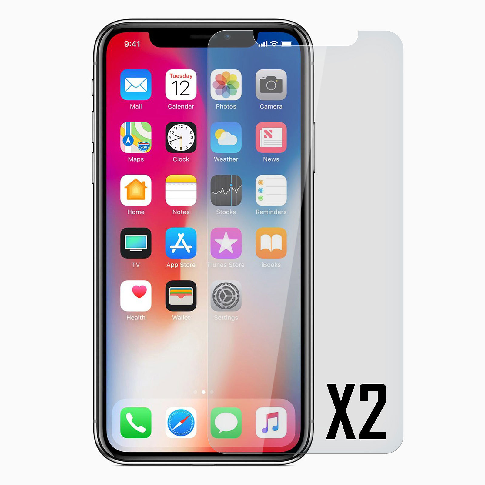 Akashi vidriotemplado Premium iPhone Xs Max