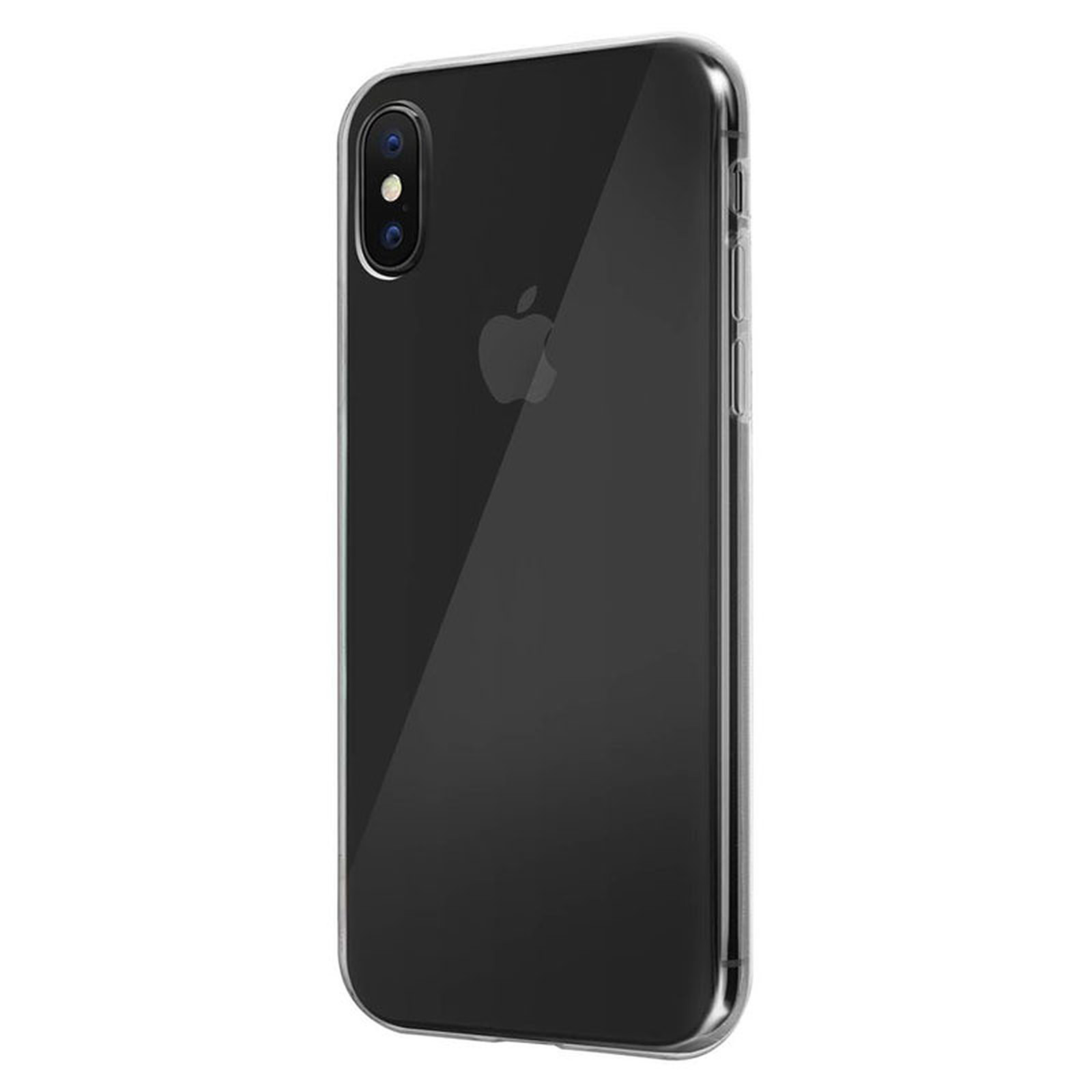 Akashi Coque TPU Transparente iPhone Xs Max