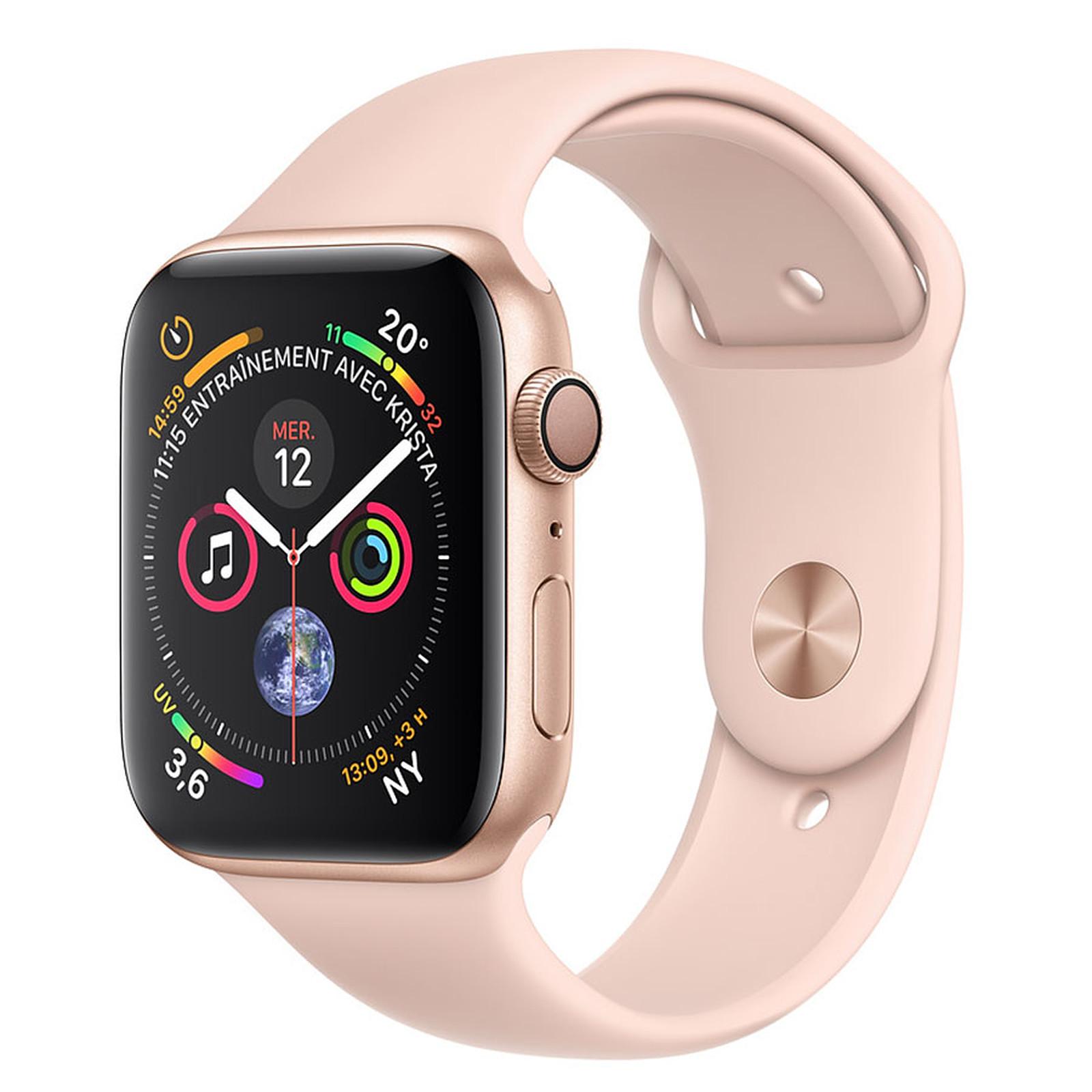 Apple Watch Series 4 GPS Aluminium Or Sport Rose 40 mm