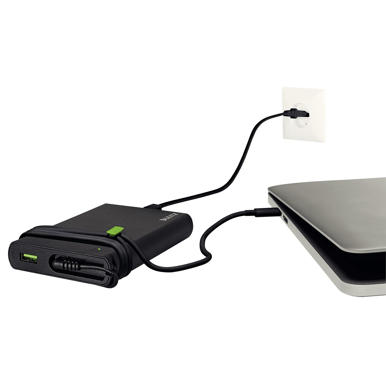 Leitz Chargeur universel USB-C pour ordinateur