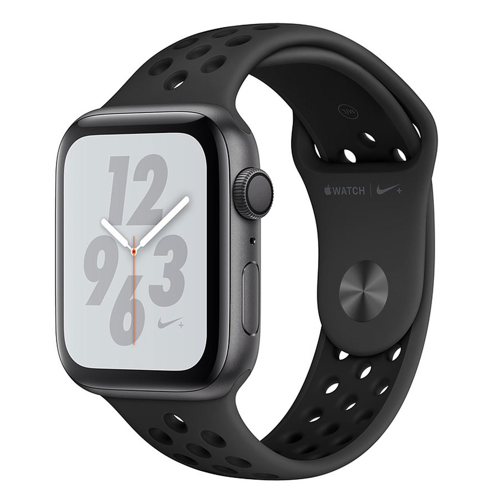 Apple Watch Nike+ Series 4 GPS Aluminium Gris Sport Anthracite/Noir 44 mm
