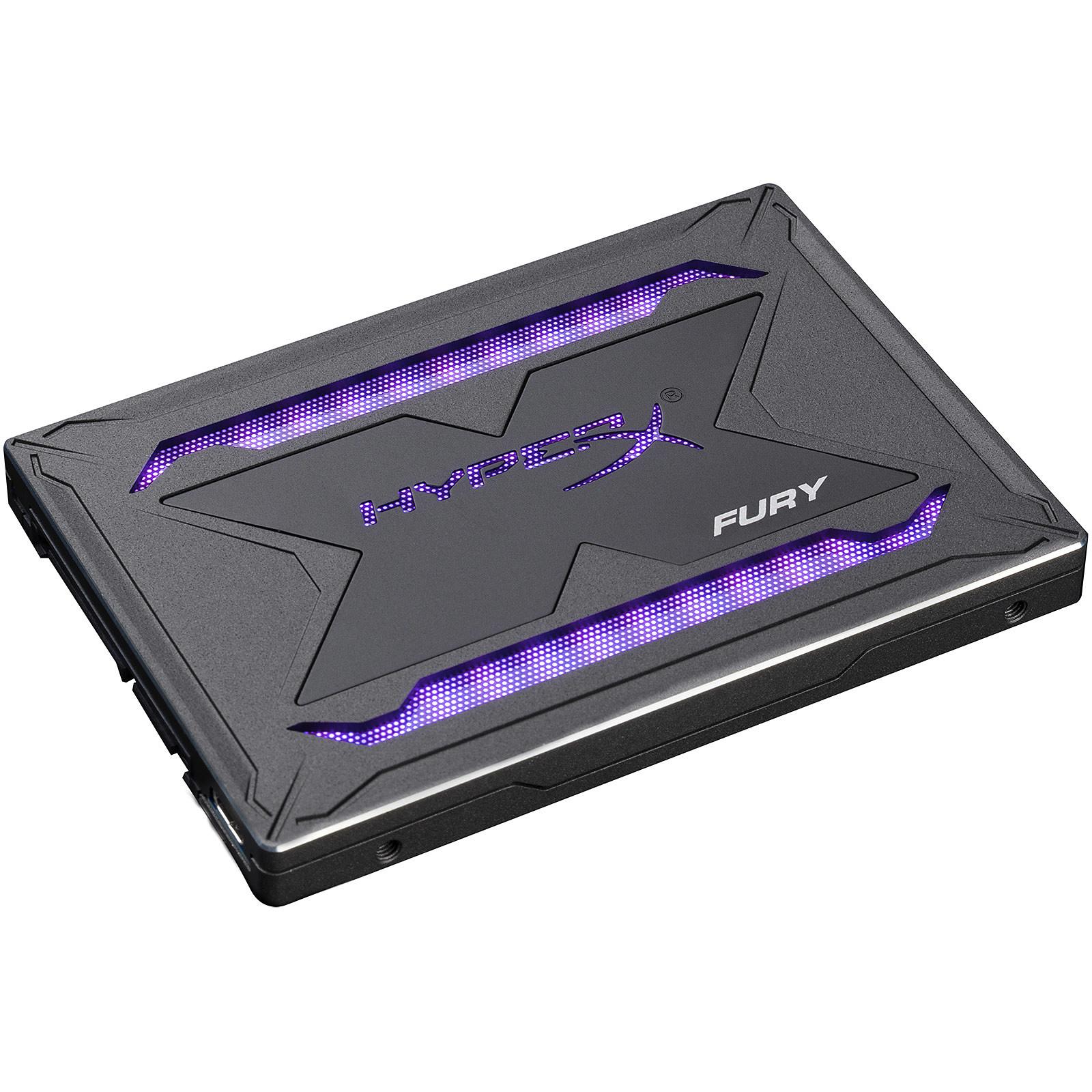 HyperX Fury RGB SSD 480 Go