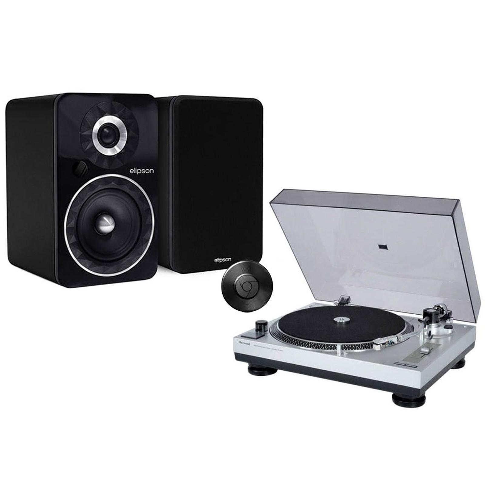 Sherwood PM-9805 + Elipson Prestige Facet 6B BT Chromecast Noir