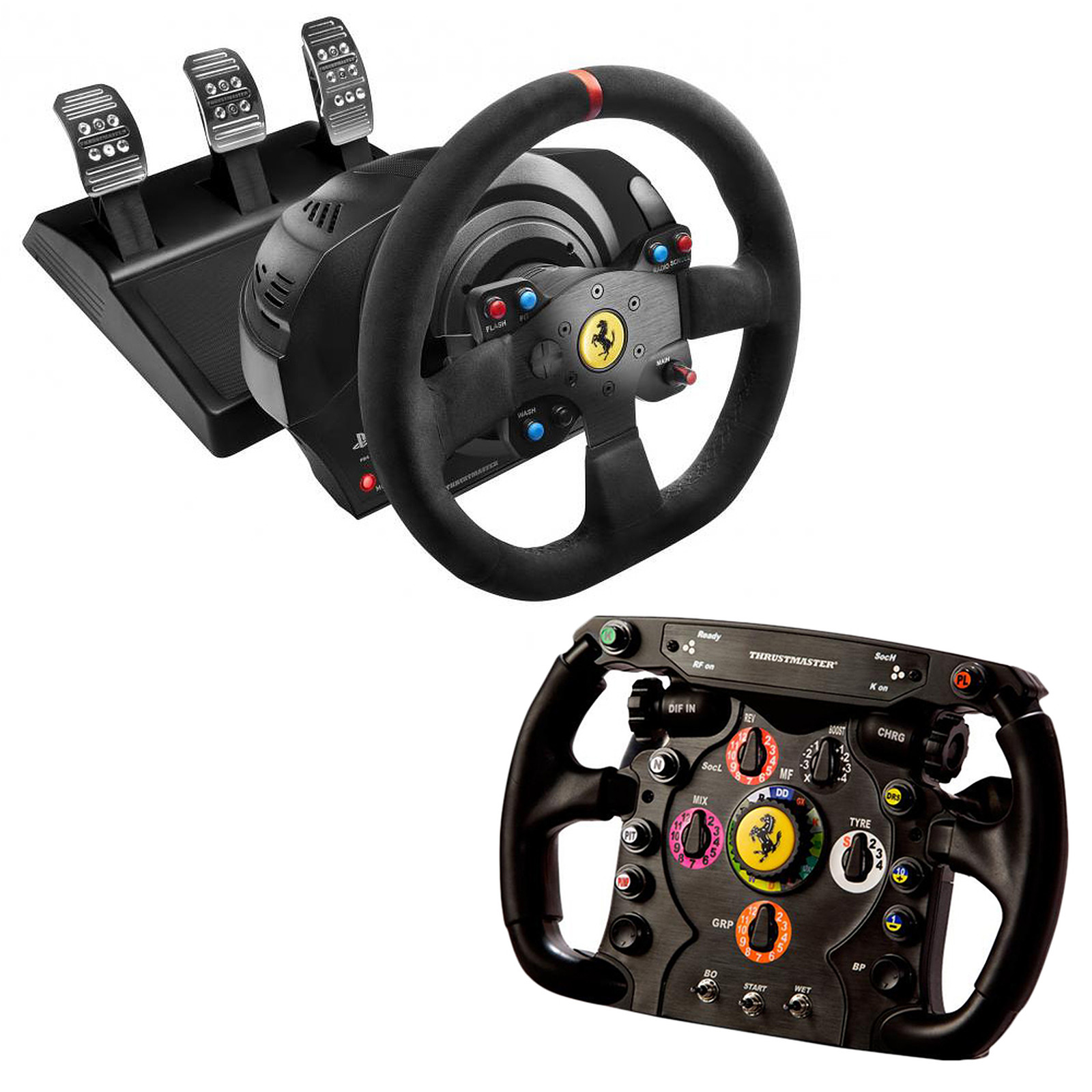 thrustmaster t300 ferrari alcantara edition ferrari f1. Black Bedroom Furniture Sets. Home Design Ideas