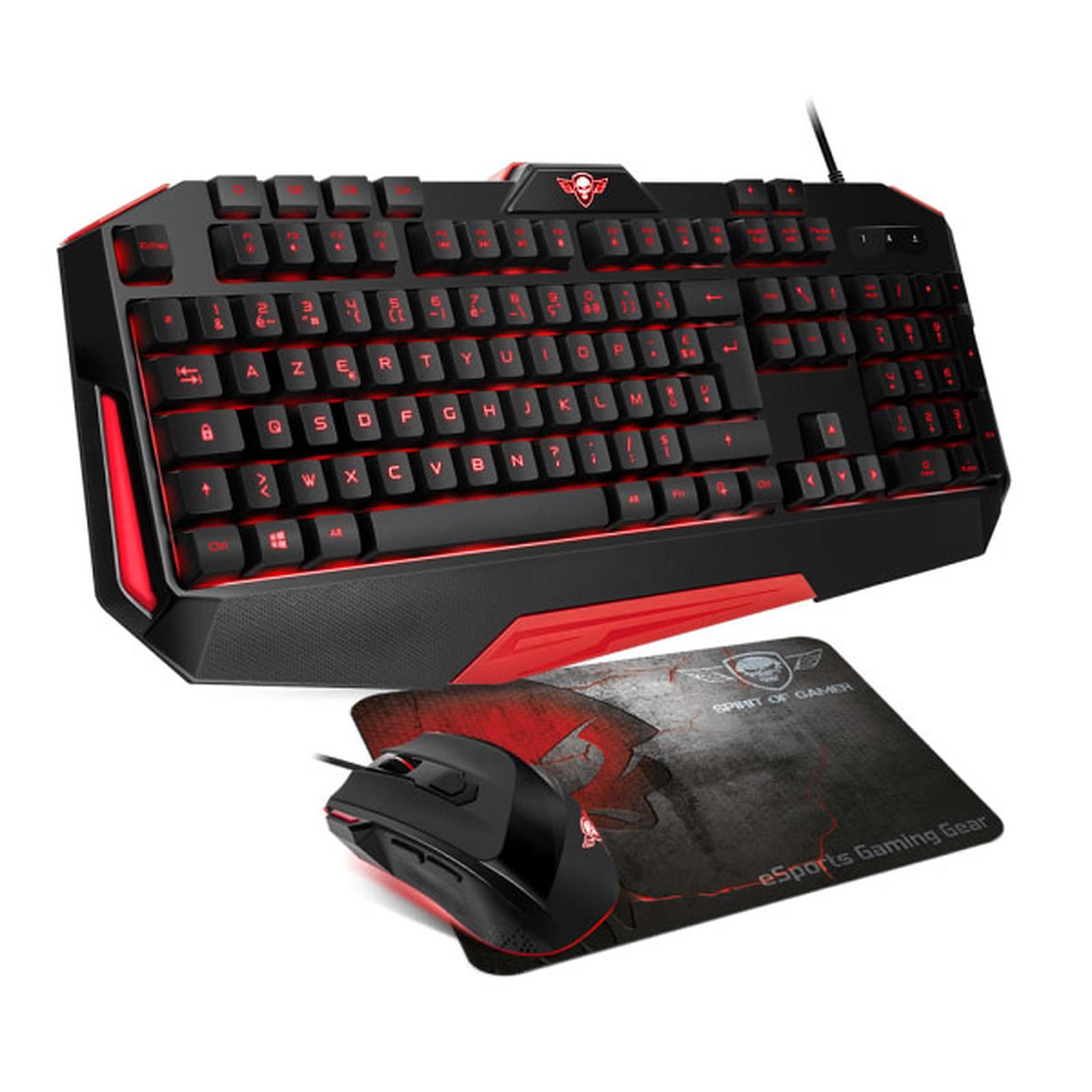Spirit of Gamer PRO MK12 Pack clavier souris Spirit of