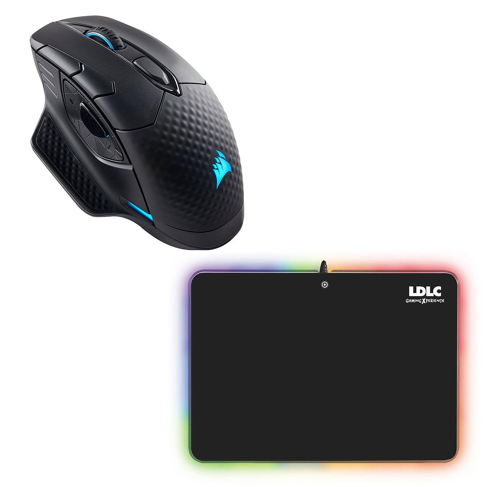 Corsair Dark Core RGB + LDLC RGB PAD