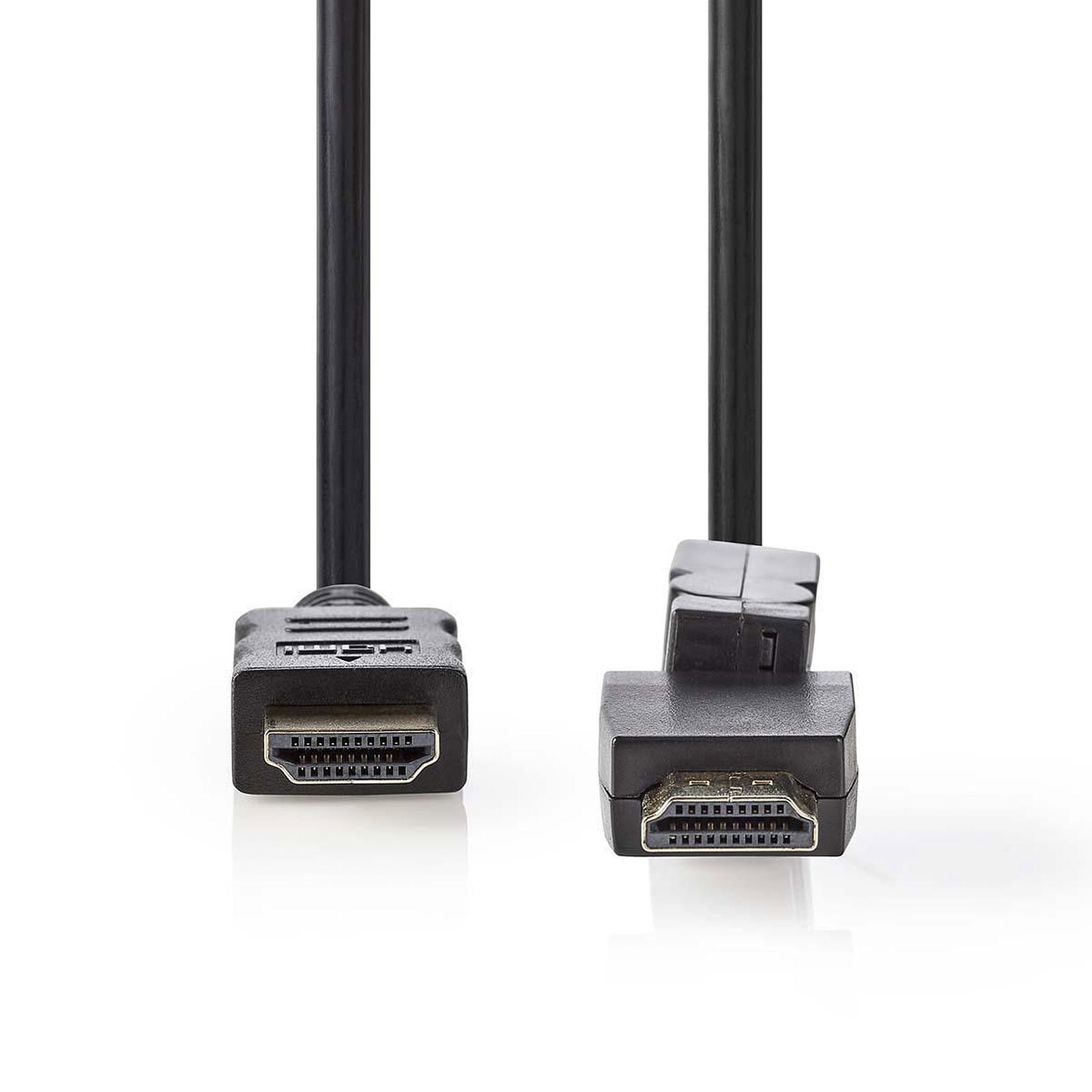 Nedis Câble HDMI rotatif haute vitesse avec Ethernet Noir (1.5 mètre)