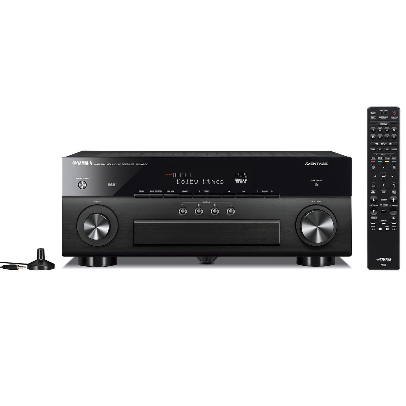 Yamaha RX-A880 Noir