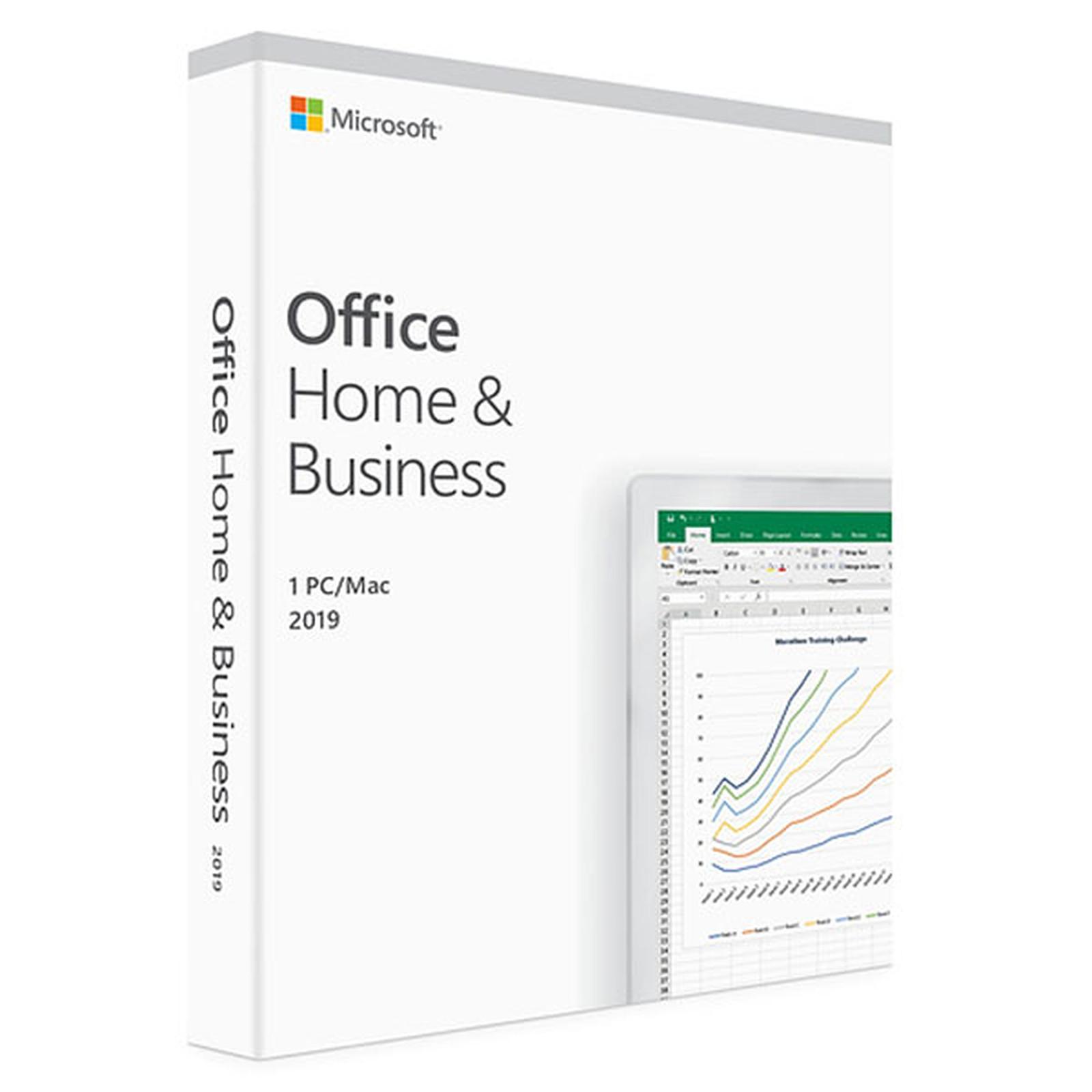Microsoft Office Famille et Petite Entreprise 2019