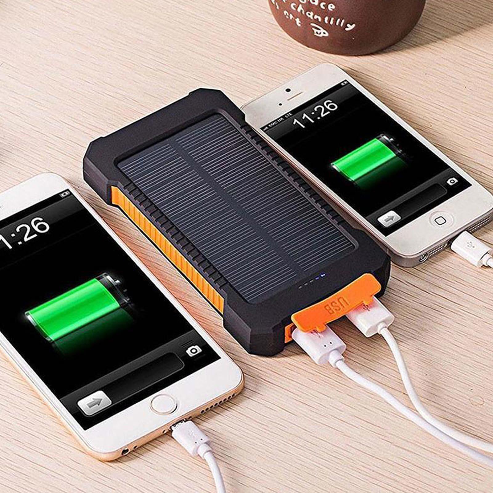 akashi batterie de secours 8000 mah solaire batterie. Black Bedroom Furniture Sets. Home Design Ideas
