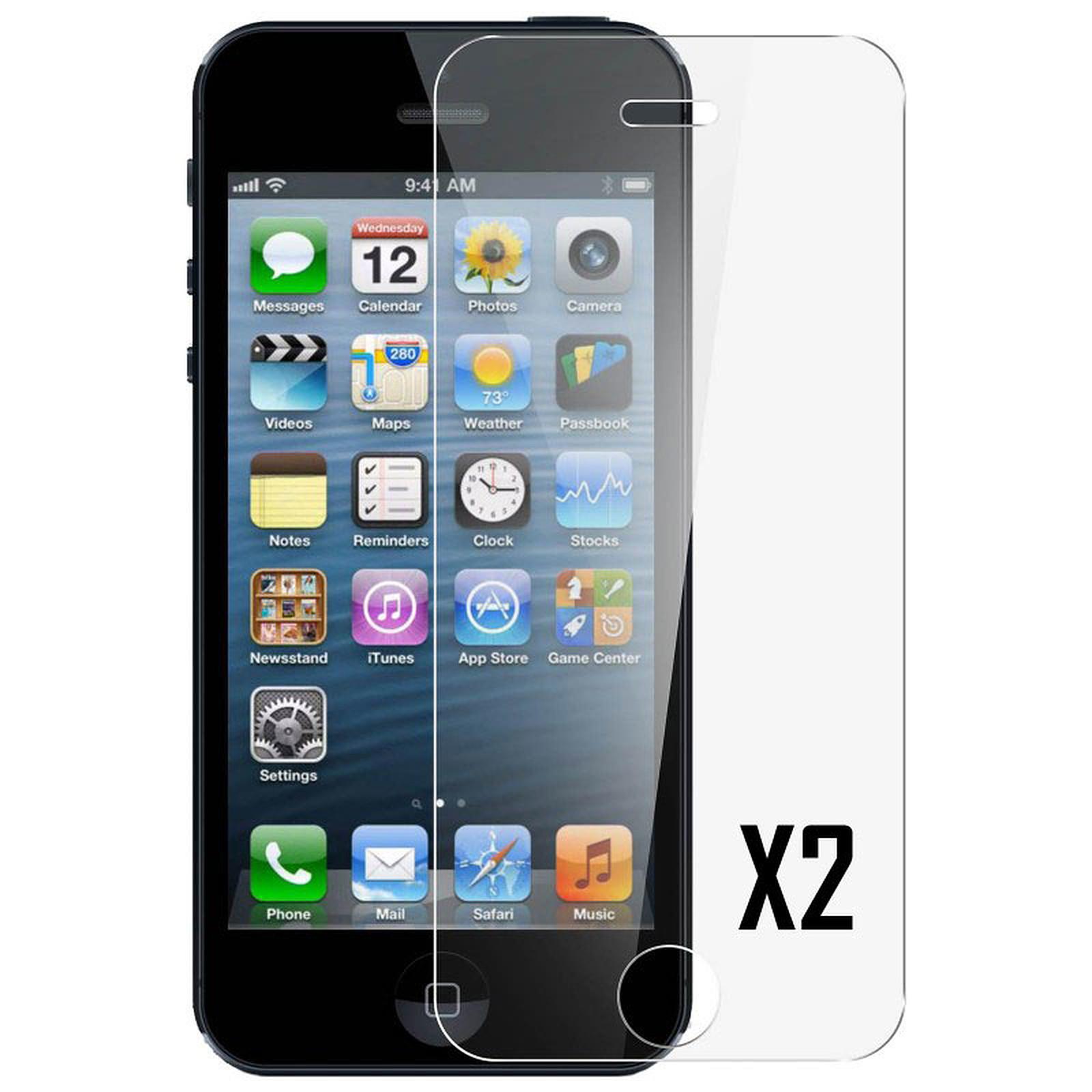 Akashi vidriotemplado Premium iPhone 5/5s/5c/SE