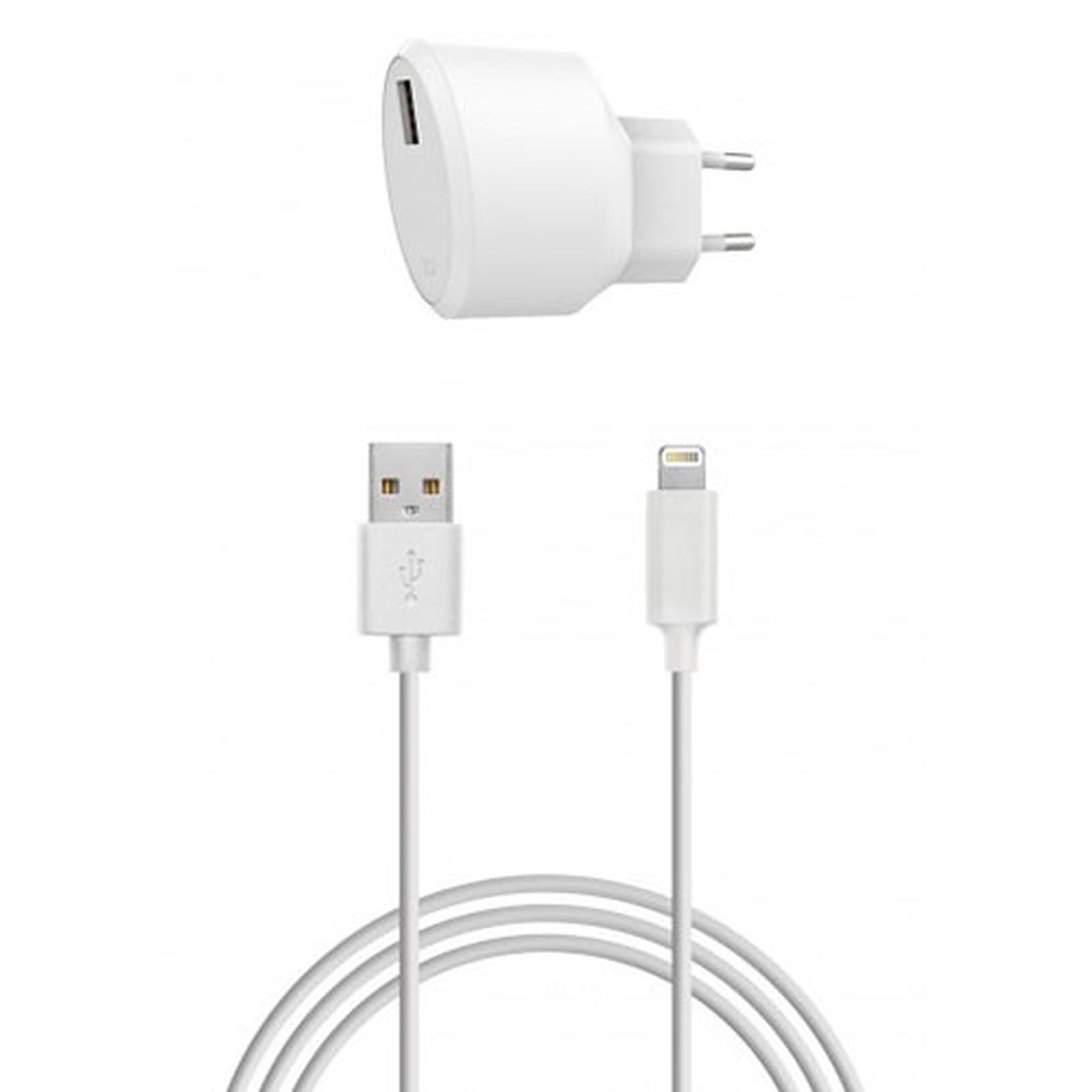 Chargeur secteur double USB 3.1 A Xqisit Chargeur pour