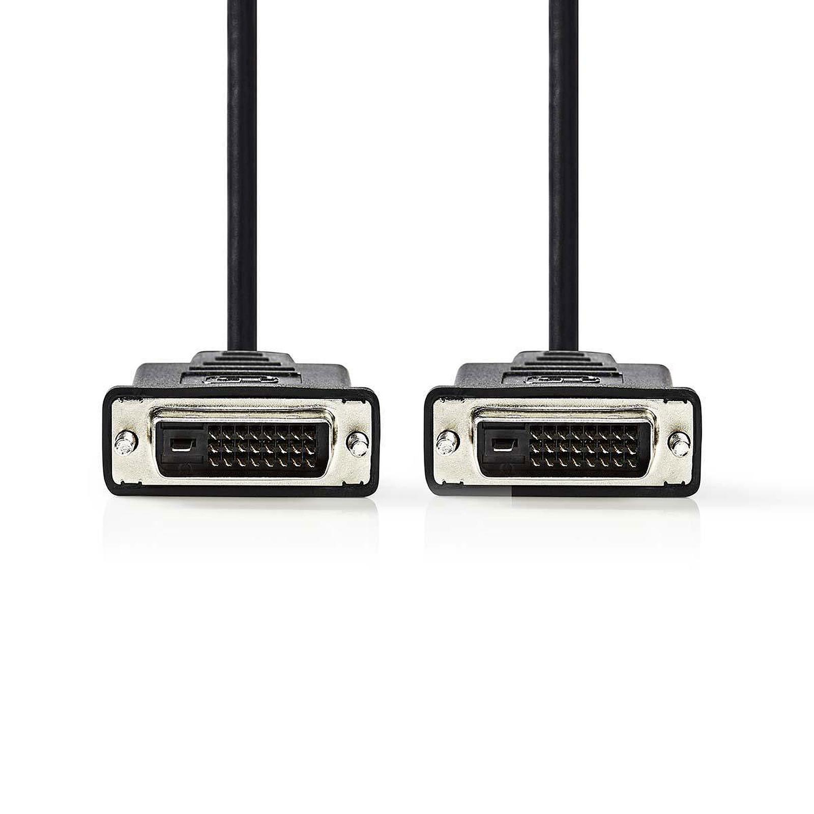 Nedis Câble DVI-D (2 mètres)