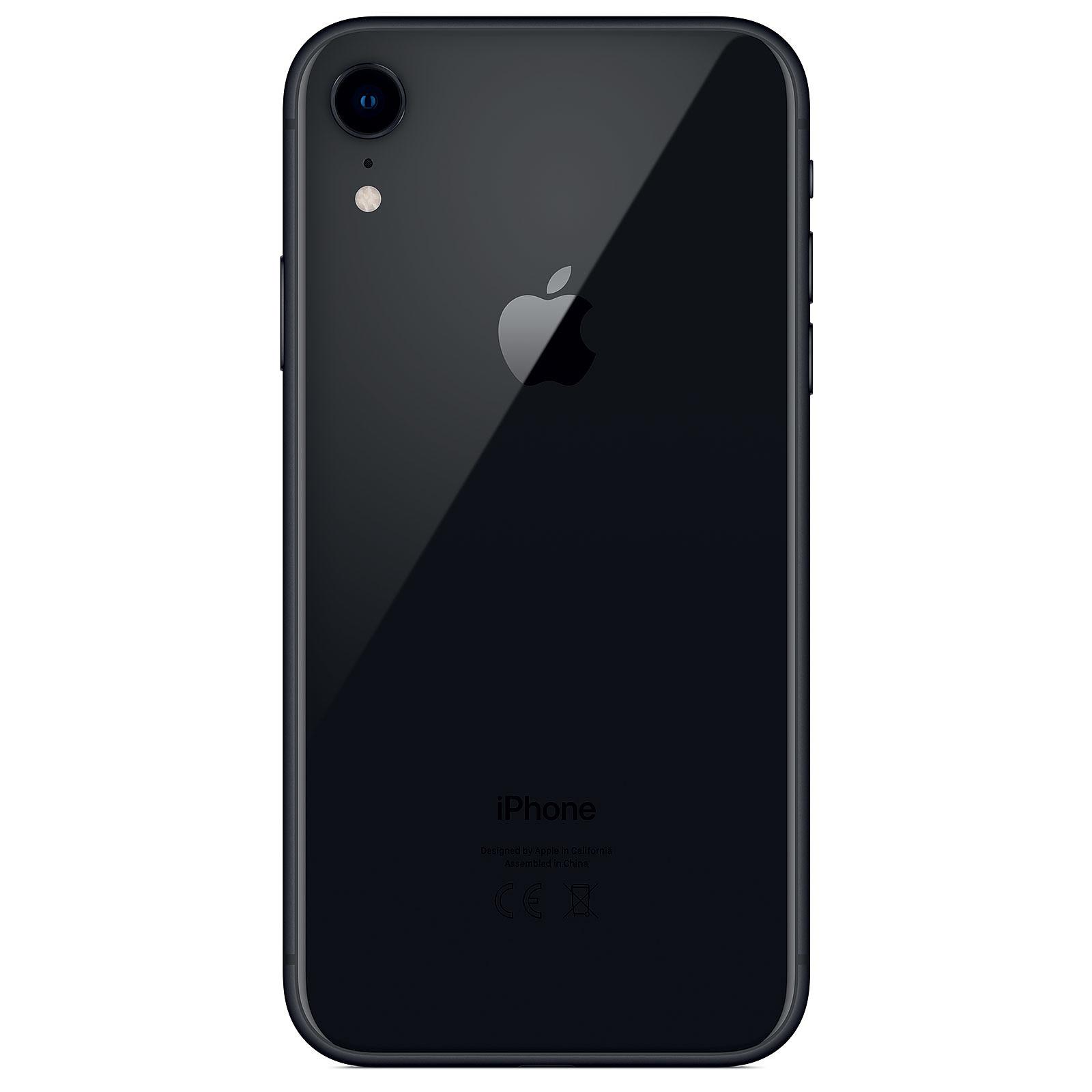 apple iphone xr 128 go noir mobile smartphone apple sur. Black Bedroom Furniture Sets. Home Design Ideas