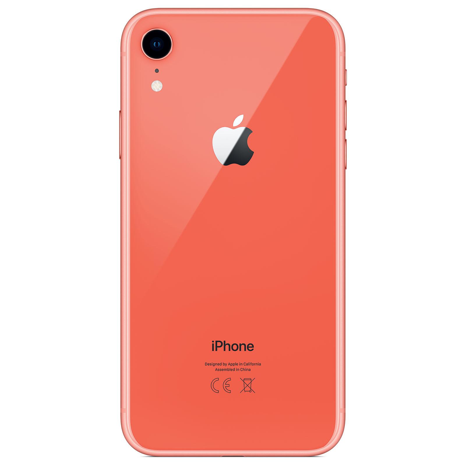 Apple Iphone Xr 128 Go Corail Mobile Smartphone Apple Sur Ldlc Com