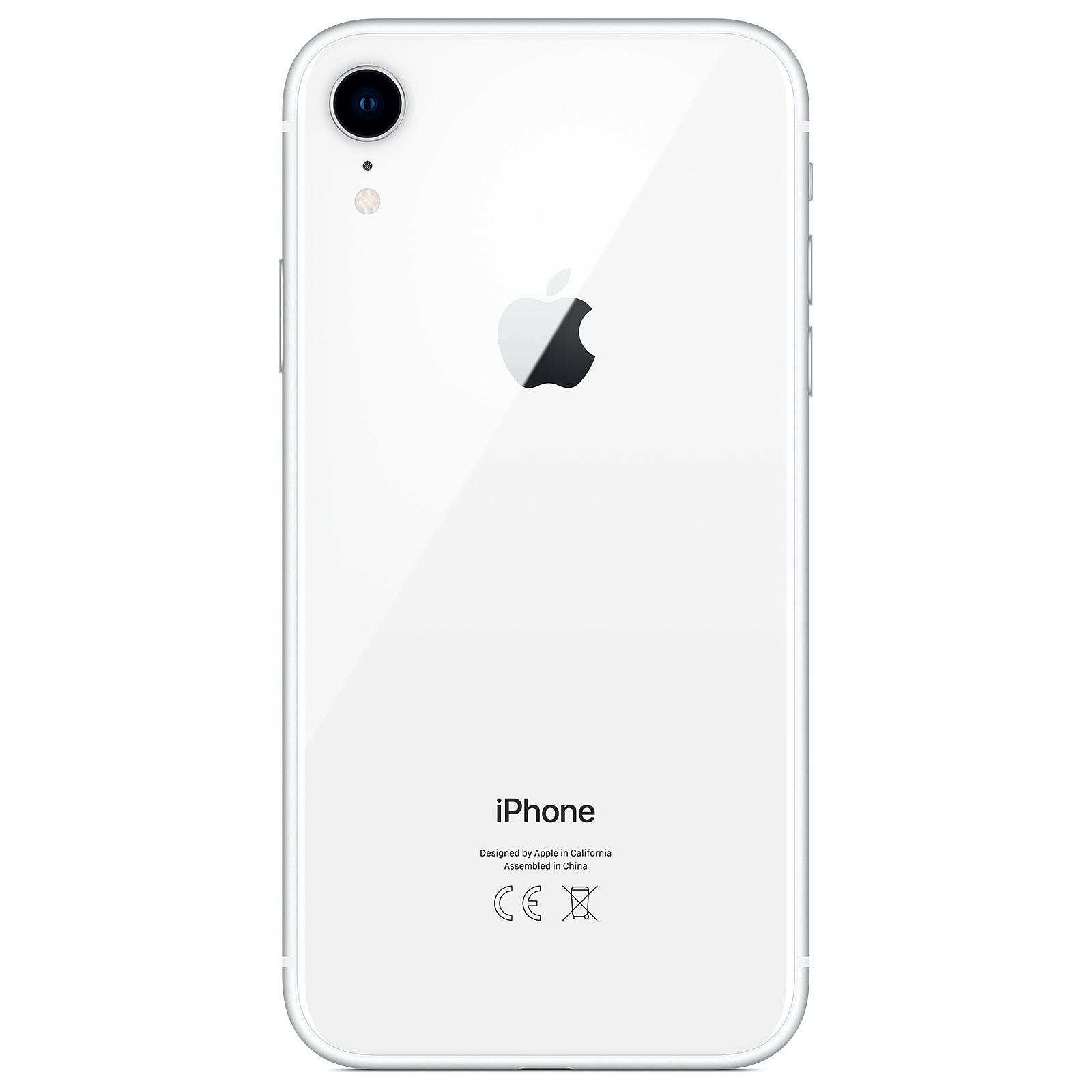 apple iphone xr 256 go blanc