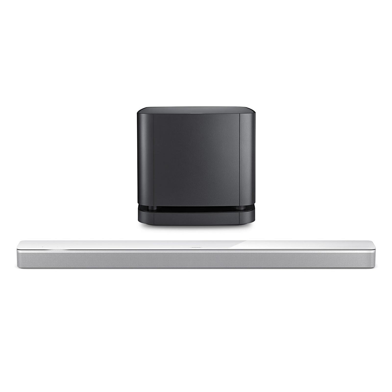 Bose Soundbar 700 Arctique + Bass Module 500 Noir