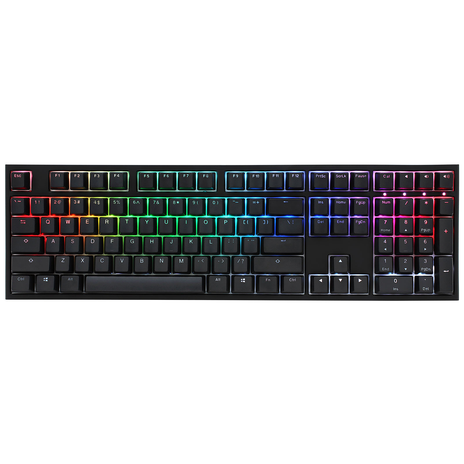 Ducky Channel One 2 RGB (Cherry MX RGB Silent Red)