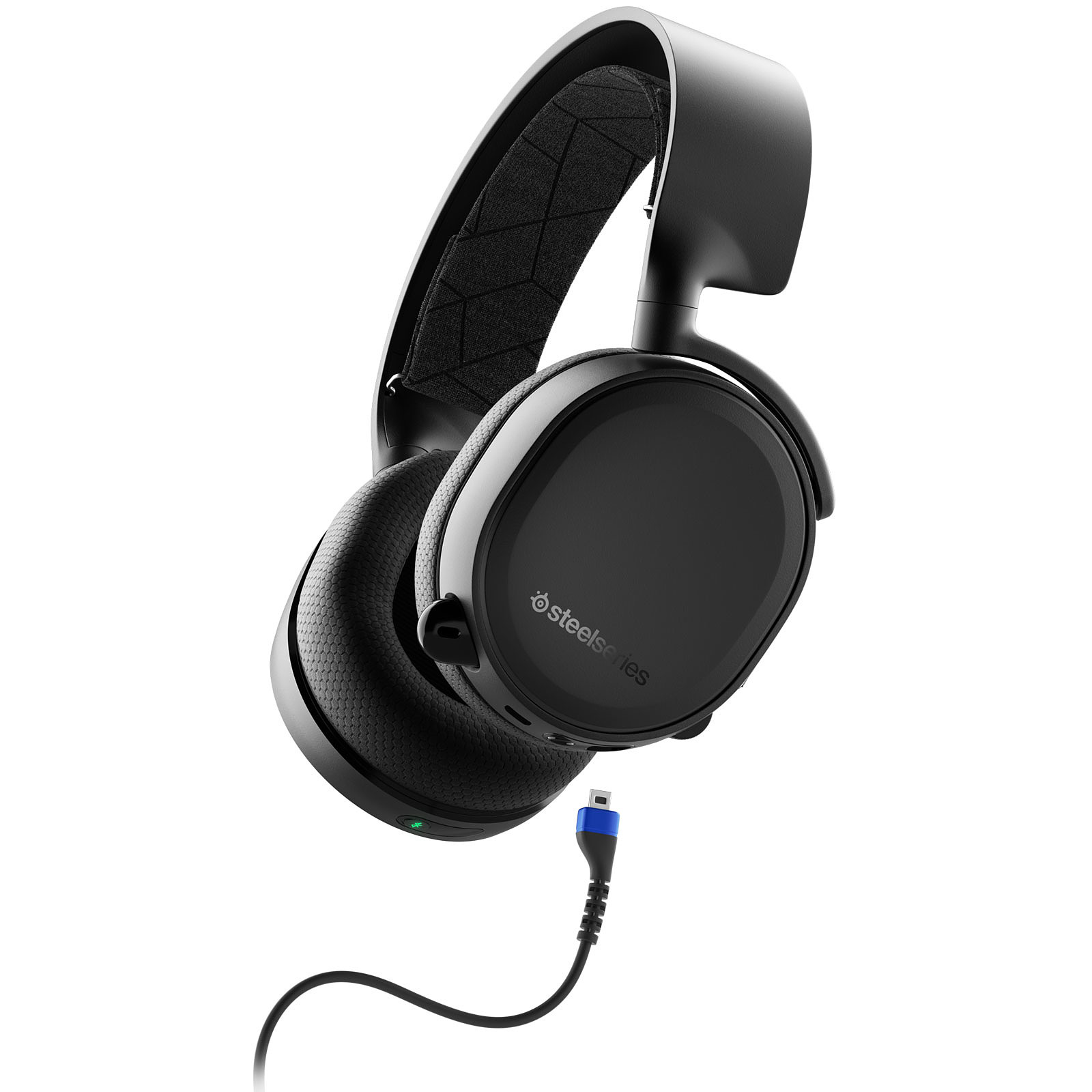 SteelSeries Arctis 3 Bluetooth 2019 (noir)