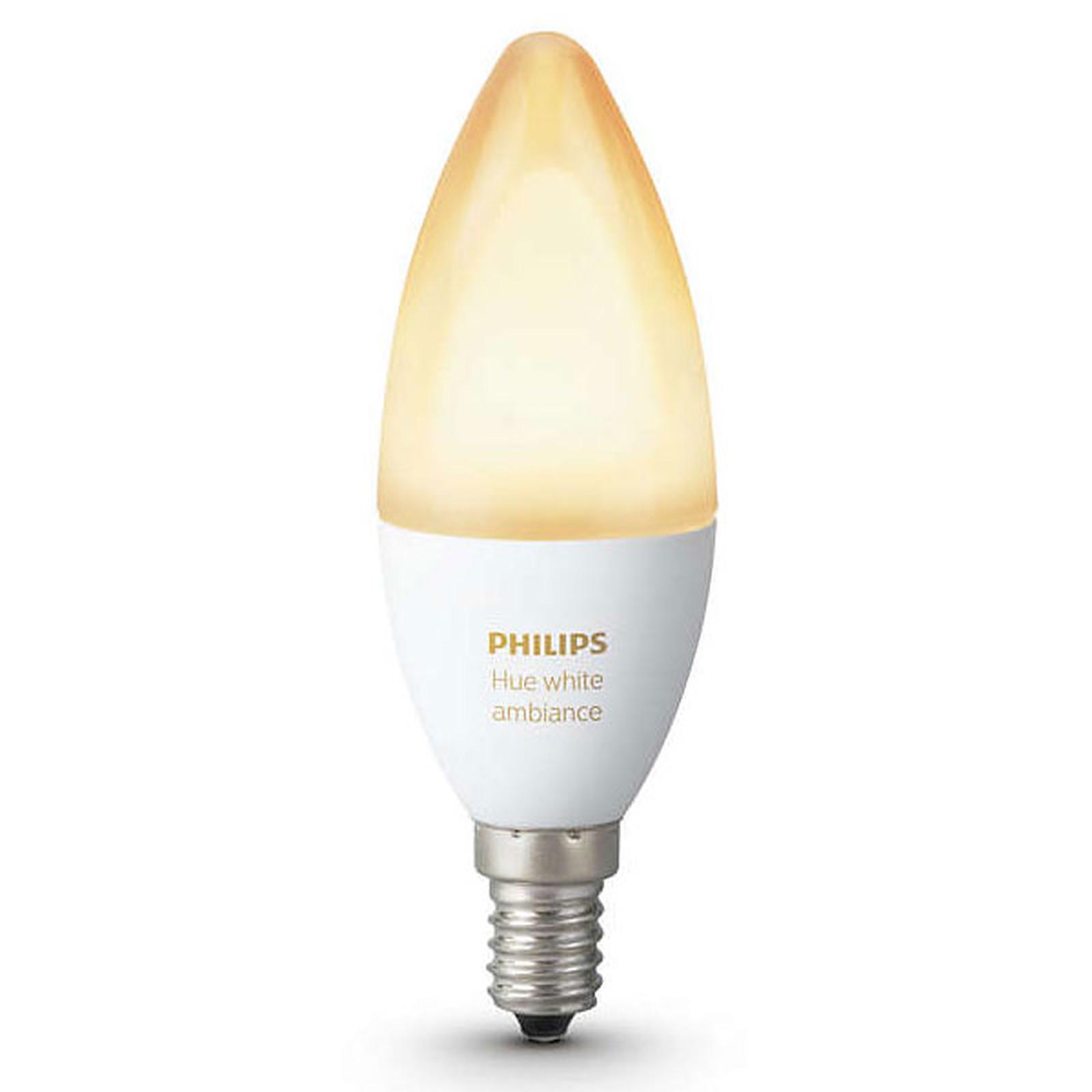 Philips Hue White Ambiance Flamme E14