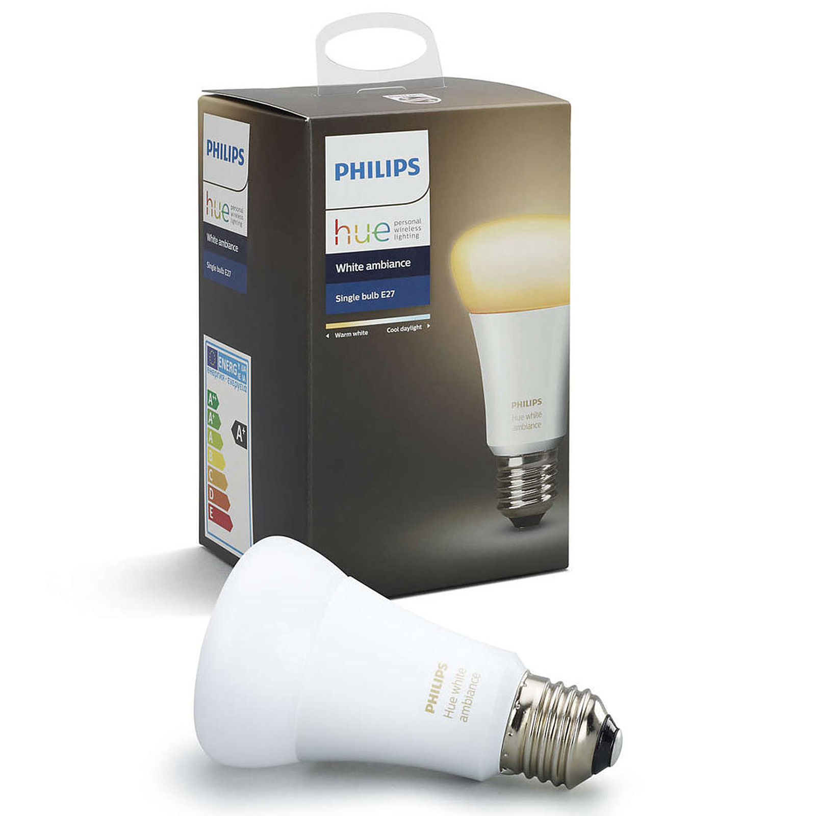 philips hue white ambiance e27 ampoule connect e philips. Black Bedroom Furniture Sets. Home Design Ideas