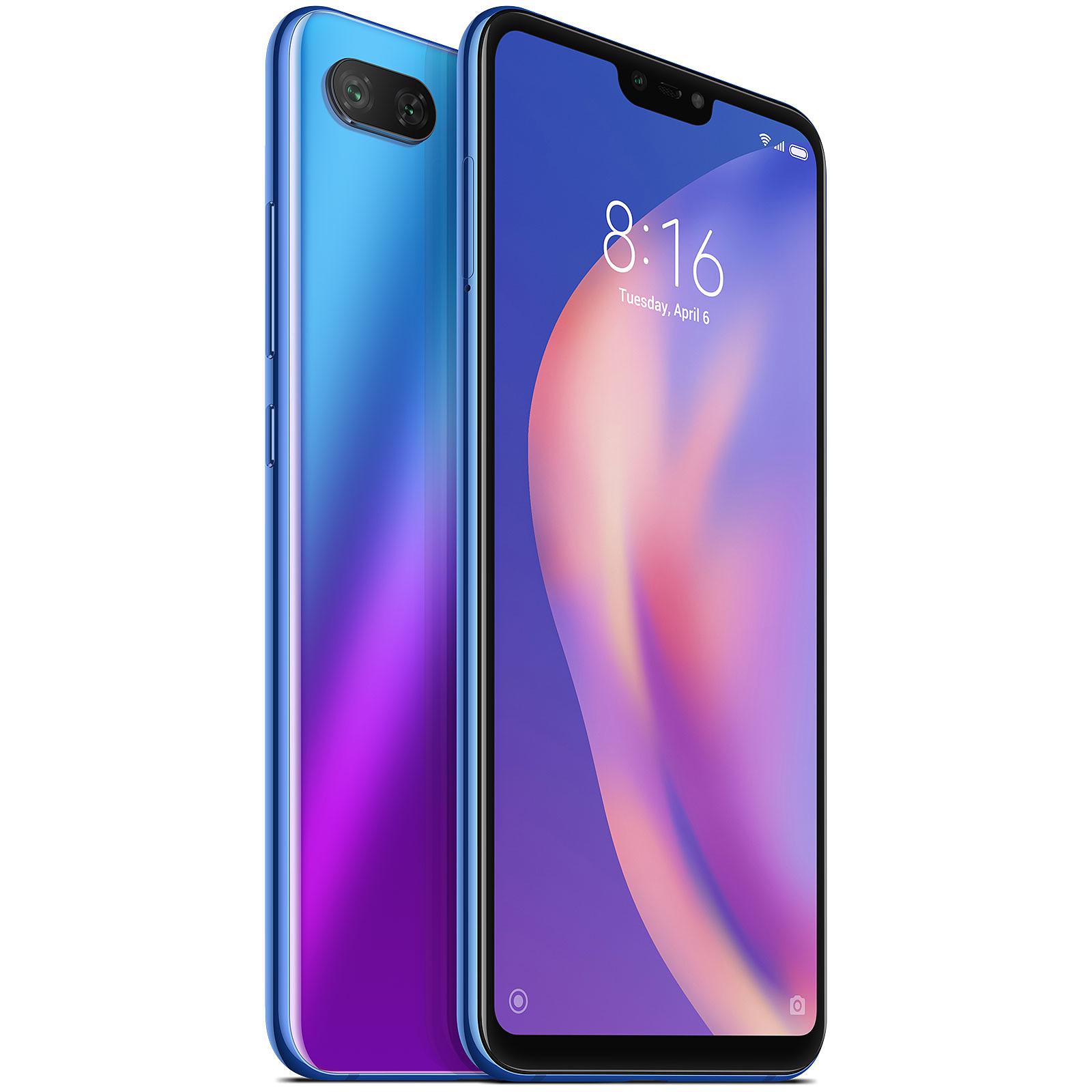 Xiaomi Mi 8 Lite Bleu (4 Go / 64 Go)