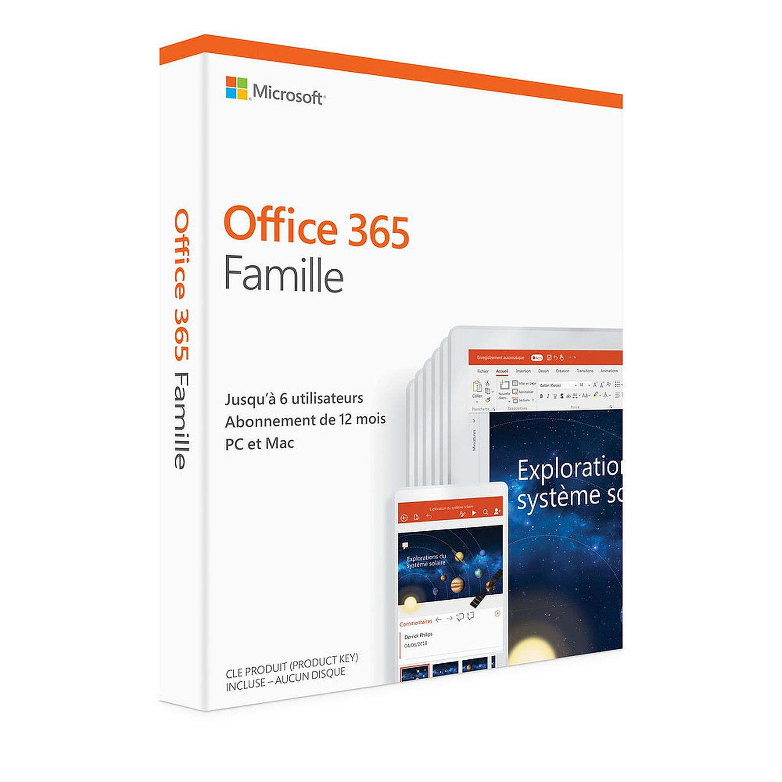 Microsoft Office 365 Home Licence Pour 6 Utilisateurs PC Ou Mac