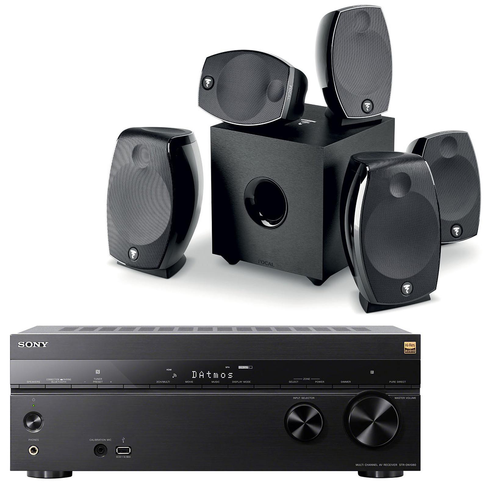 Sony STR-DN1080 + Focal Sib Evo 5.1.2 Dolby Atmos