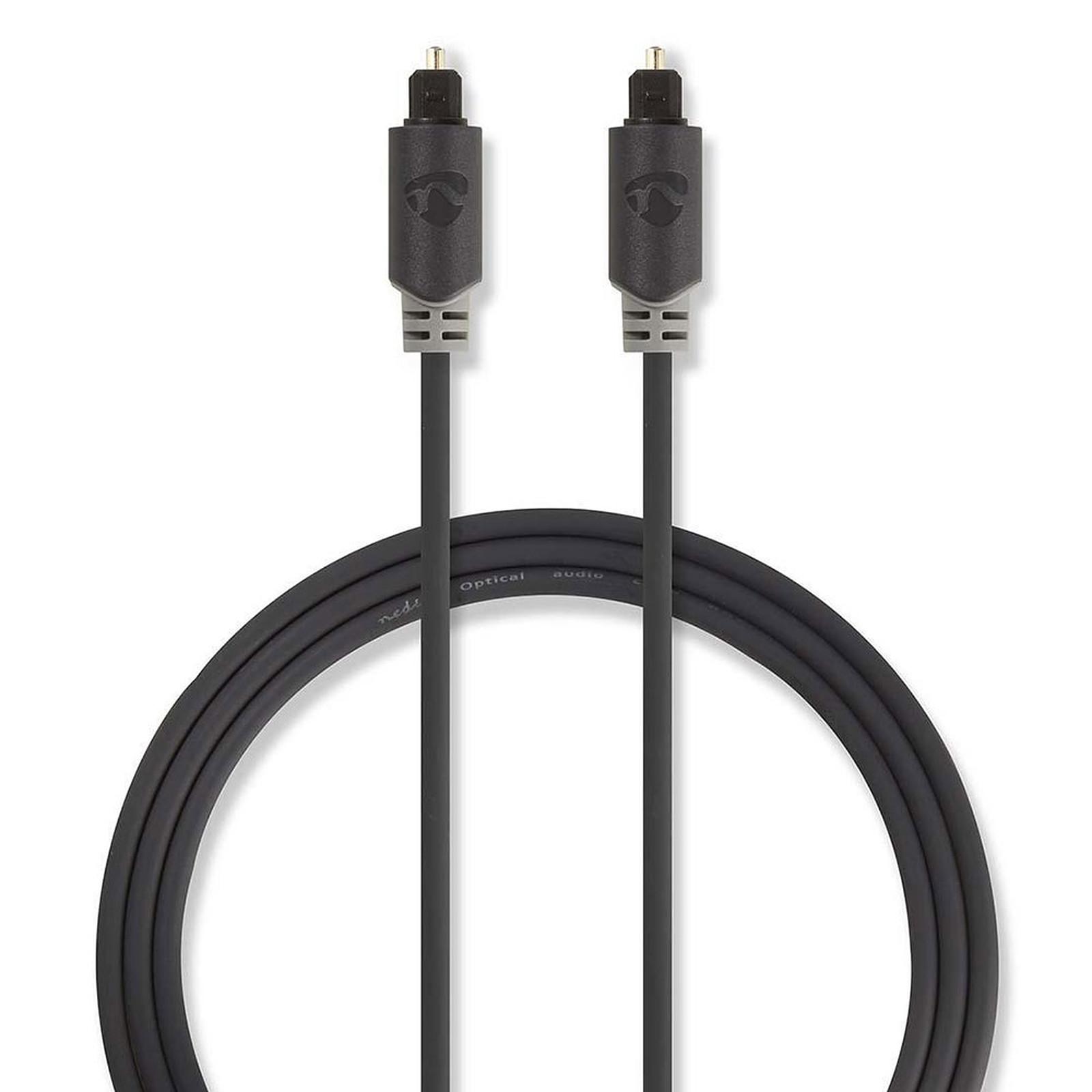 Nedis Cable de audio óptico - 1m