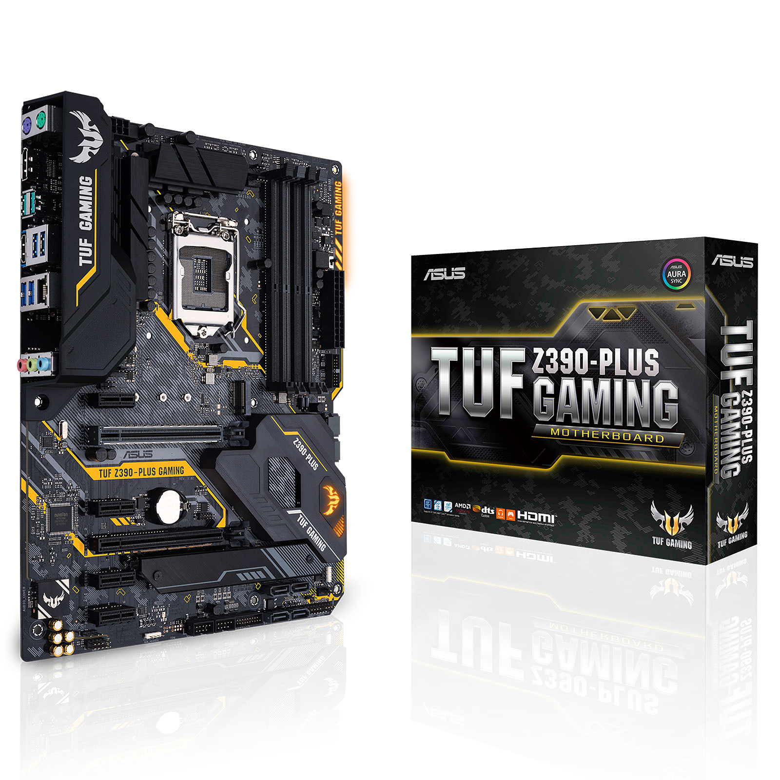 ASUS TUF Z390-PLUS GAMING