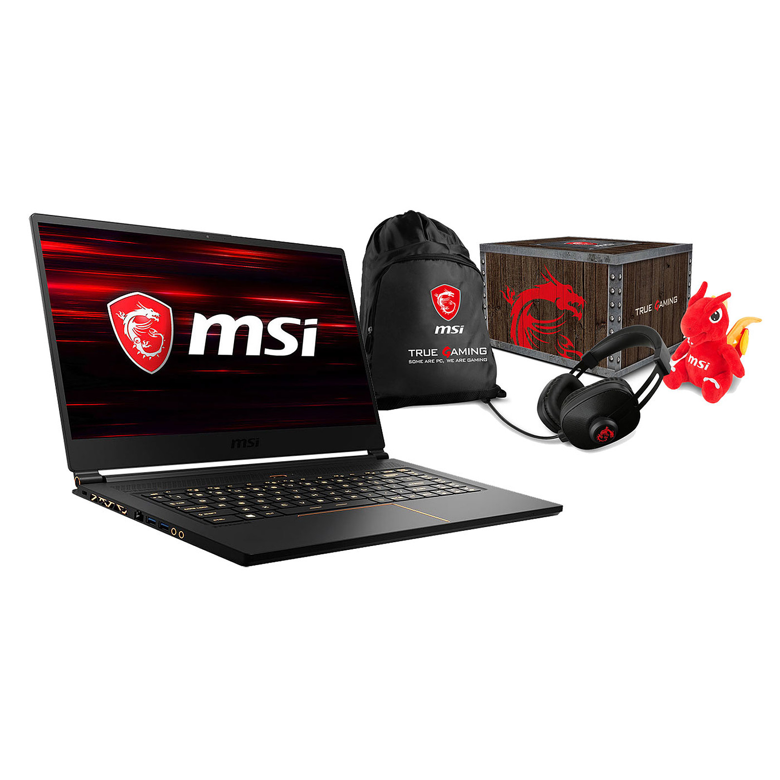 MSI GS65 8RF-049FR Stealth Thin + MSI Loot Box - Level 2 OFFERTE !
