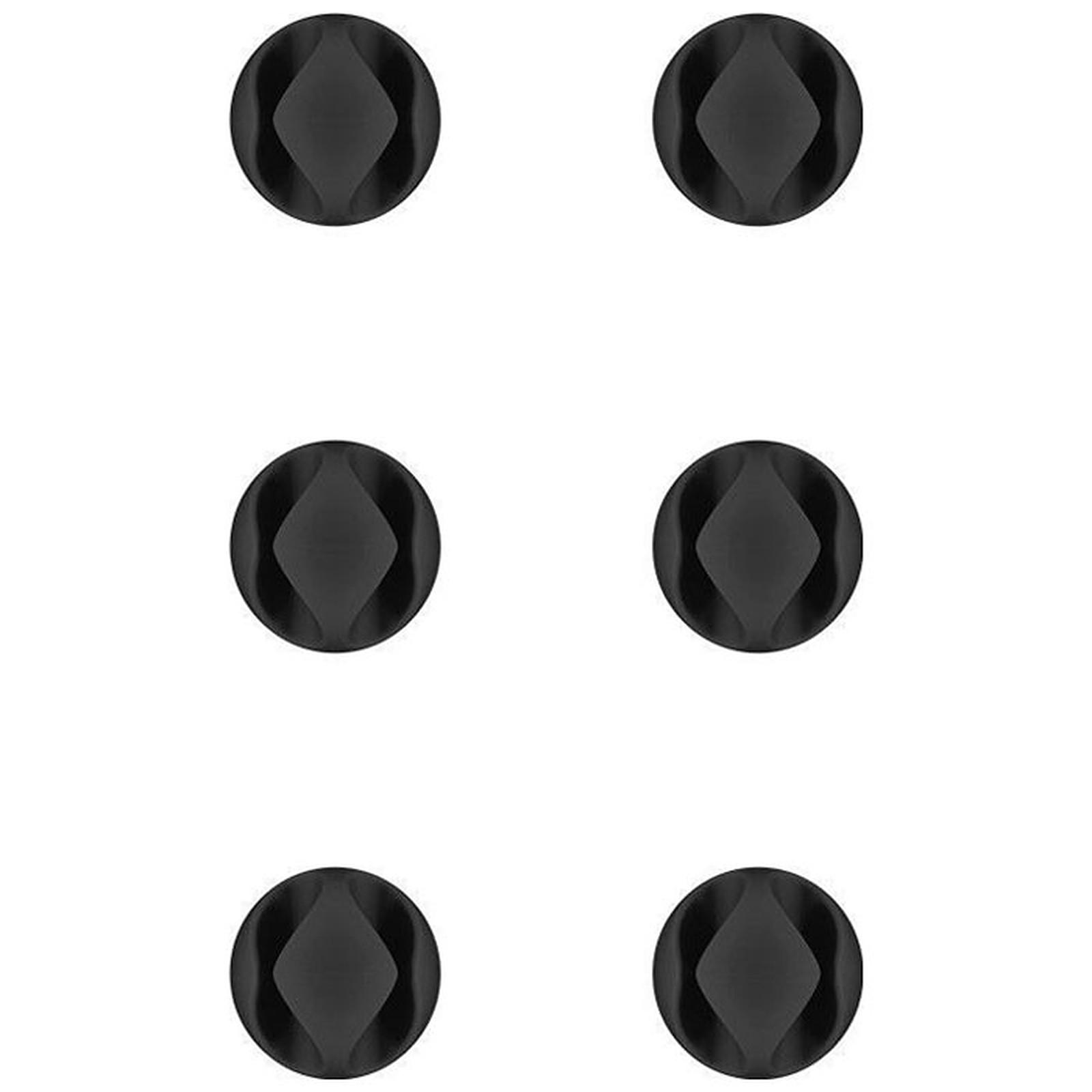 Goobay 6 Slot Cable Management Mini - Negro