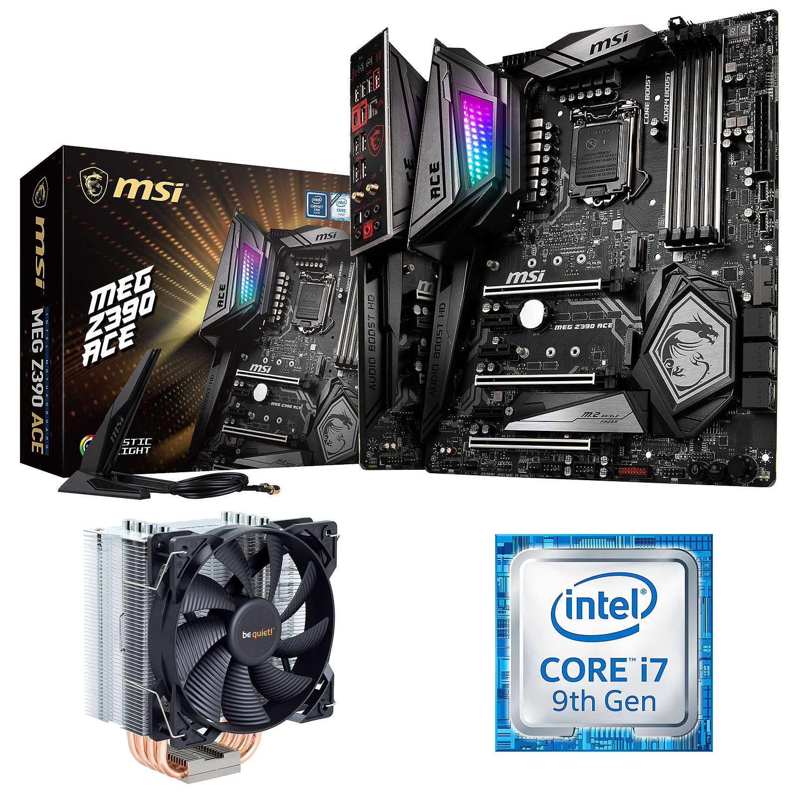 Kit Upgrade PC Core i7 MSI MEG Z390 ACE