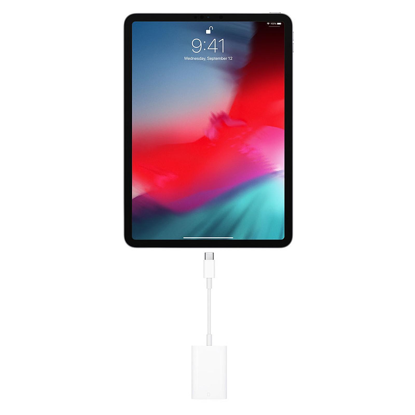 Apple Adaptateur Usb C Vers Lecteur Sd Blanc Accessoires Apple Apple Sur Ldlc Com