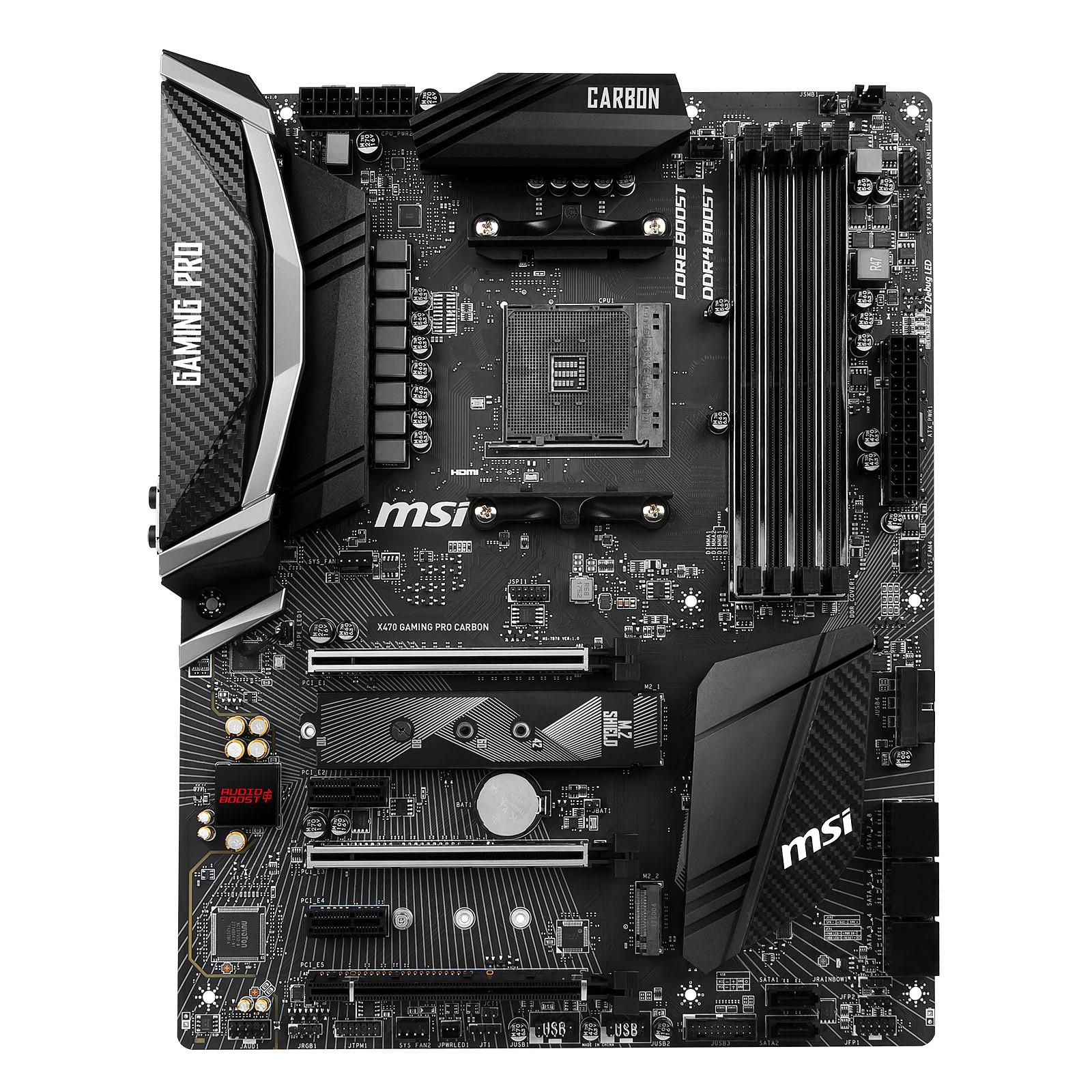 Kit de actualización PC AMD Ryzen 5 2600X MSI X470 GAMING PRO CARBONO