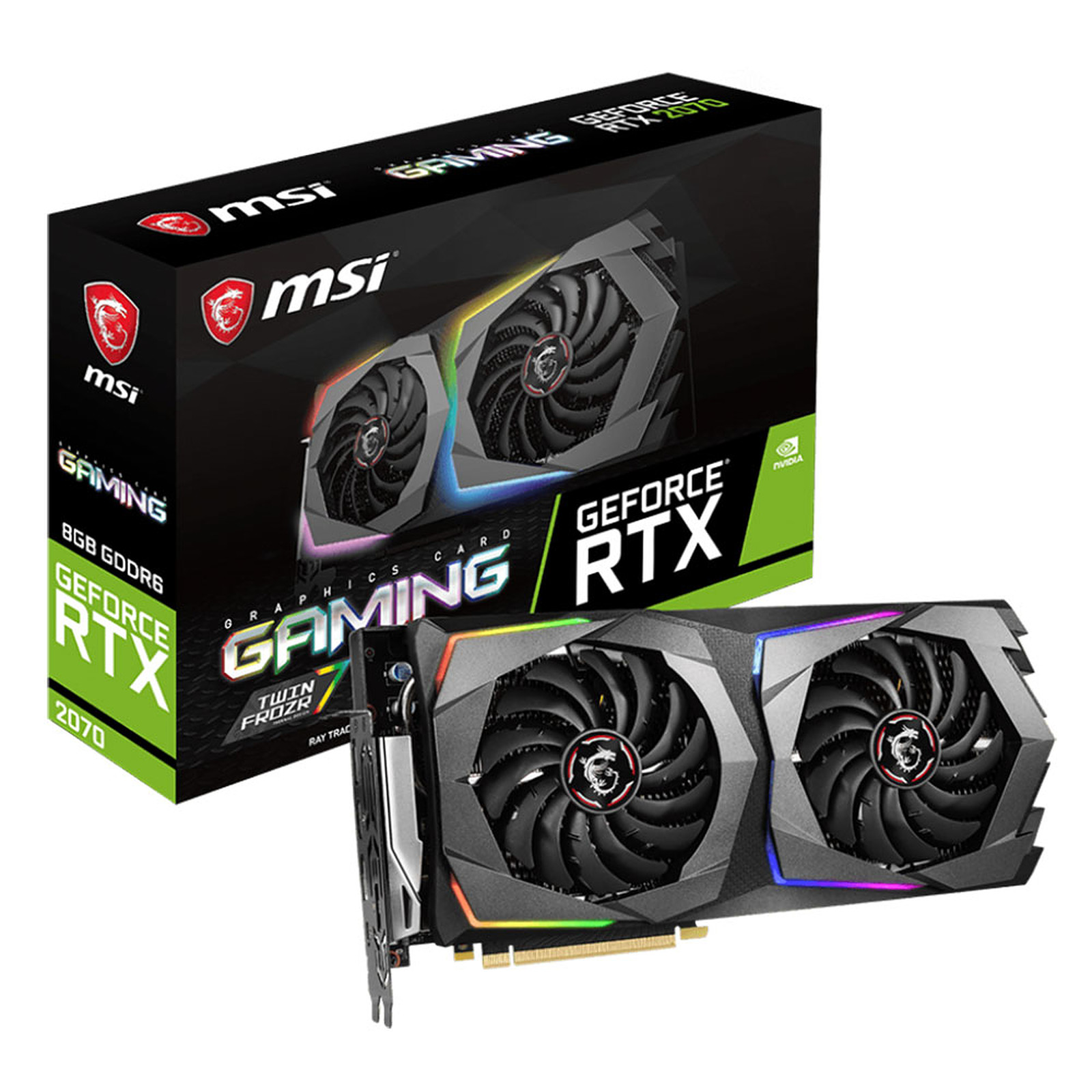 MSI GeForce RTX 2070 GAMING 8G