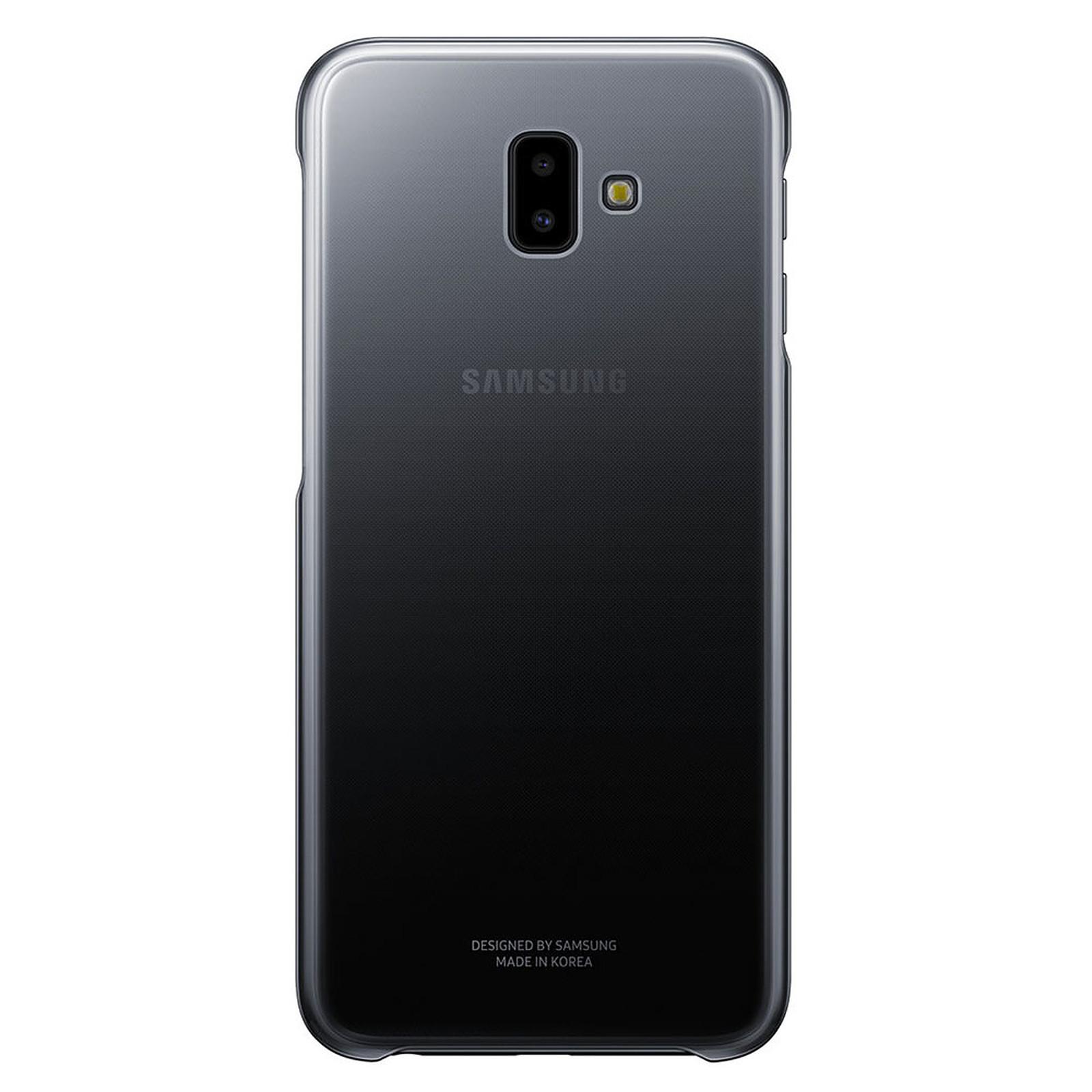 Samsung Gradation Cover Negro Galaxy J6+