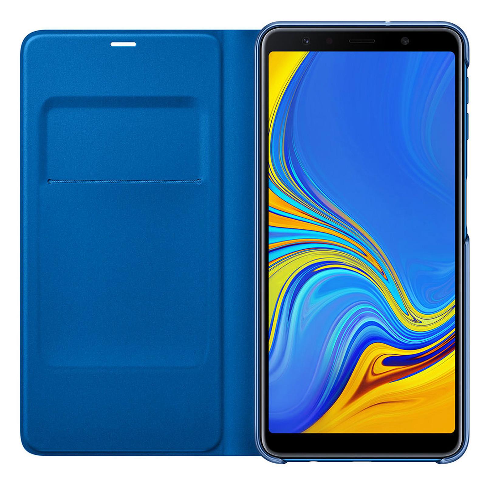 Samsung Flip Wallet Azul Galaxy A7 2018