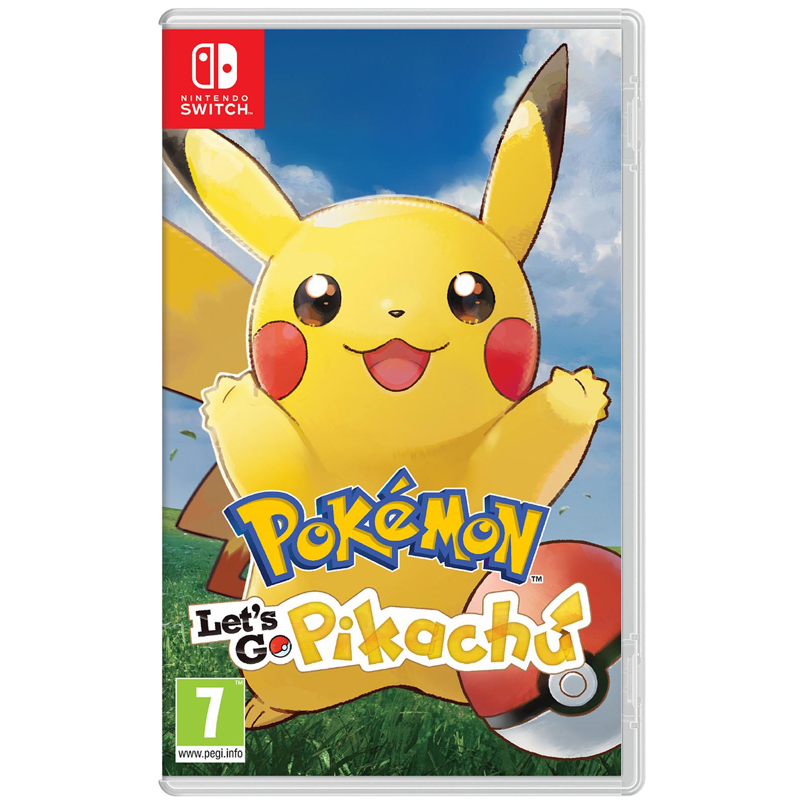 Pokémon : Let's Go, Pikachu (Switch)