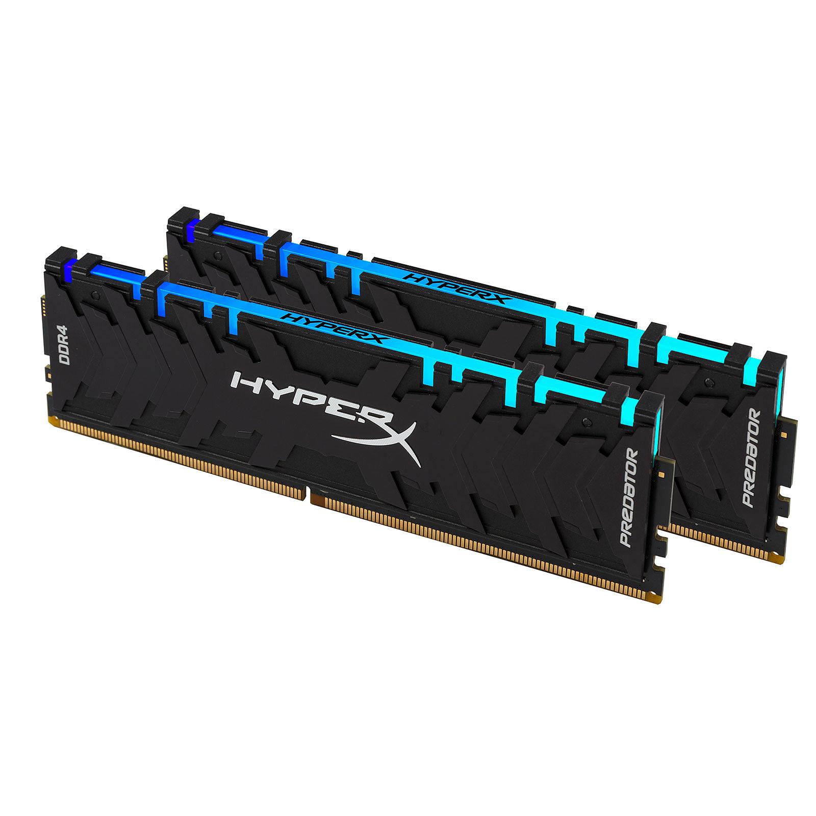 HyperX Predator RGB 16 Go (2x 8 Go) DDR4 3600 MHz CL17