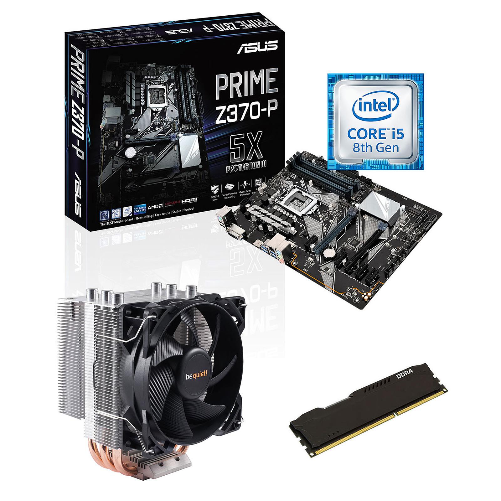Kit Upgrade PC Core i5 ASUS PRIME Z370-P 4 Go