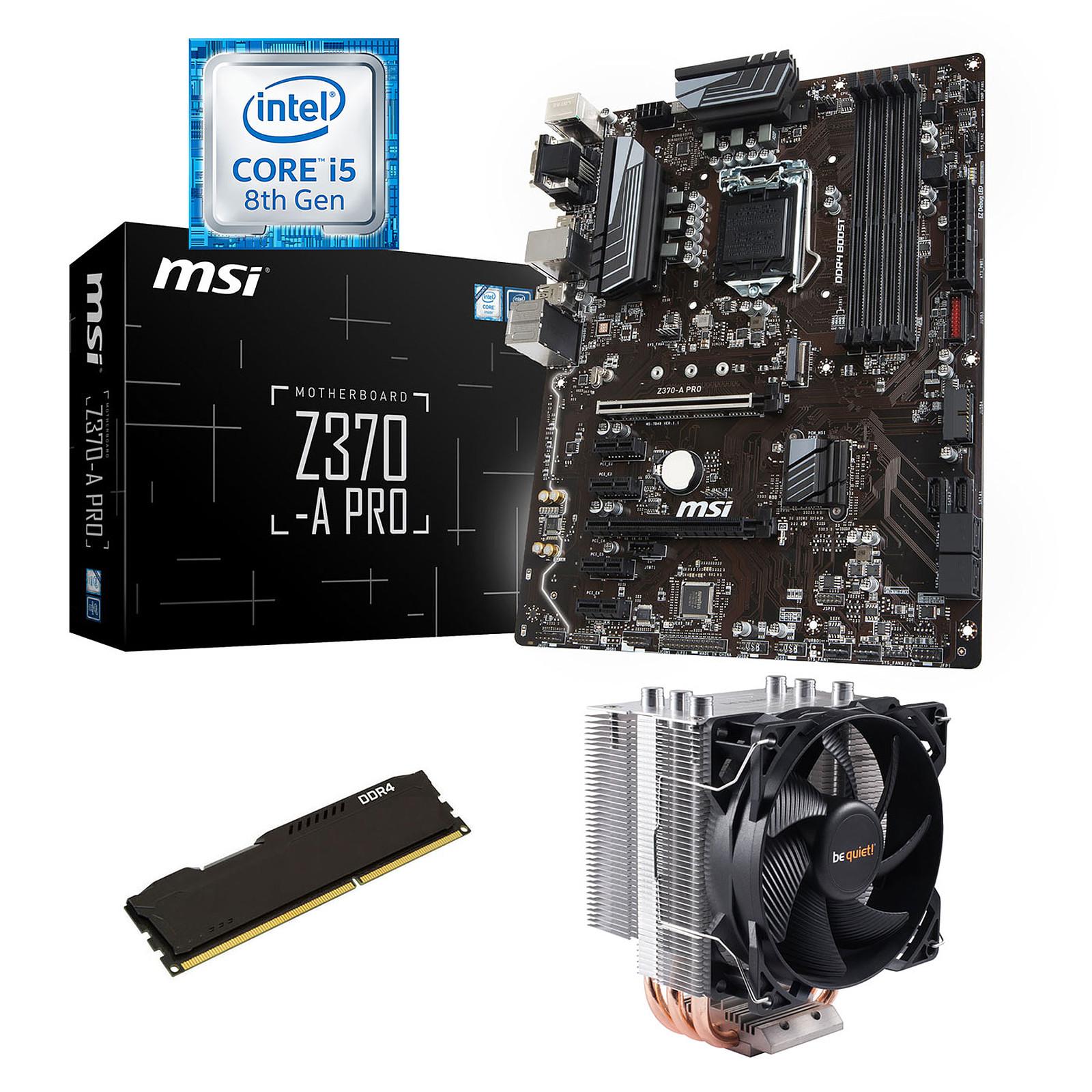 Kit Upgrade PC Core i5 MSI Z370-A PRO 4 Go