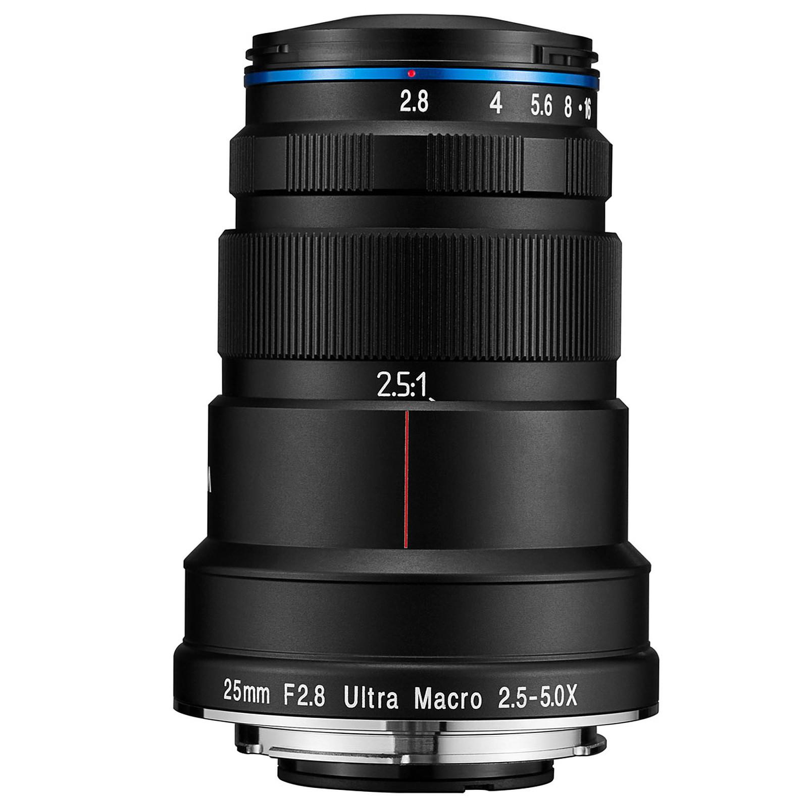 Laowa 25mm f/2.8 2.5-5X Ultra Macro Sony FE