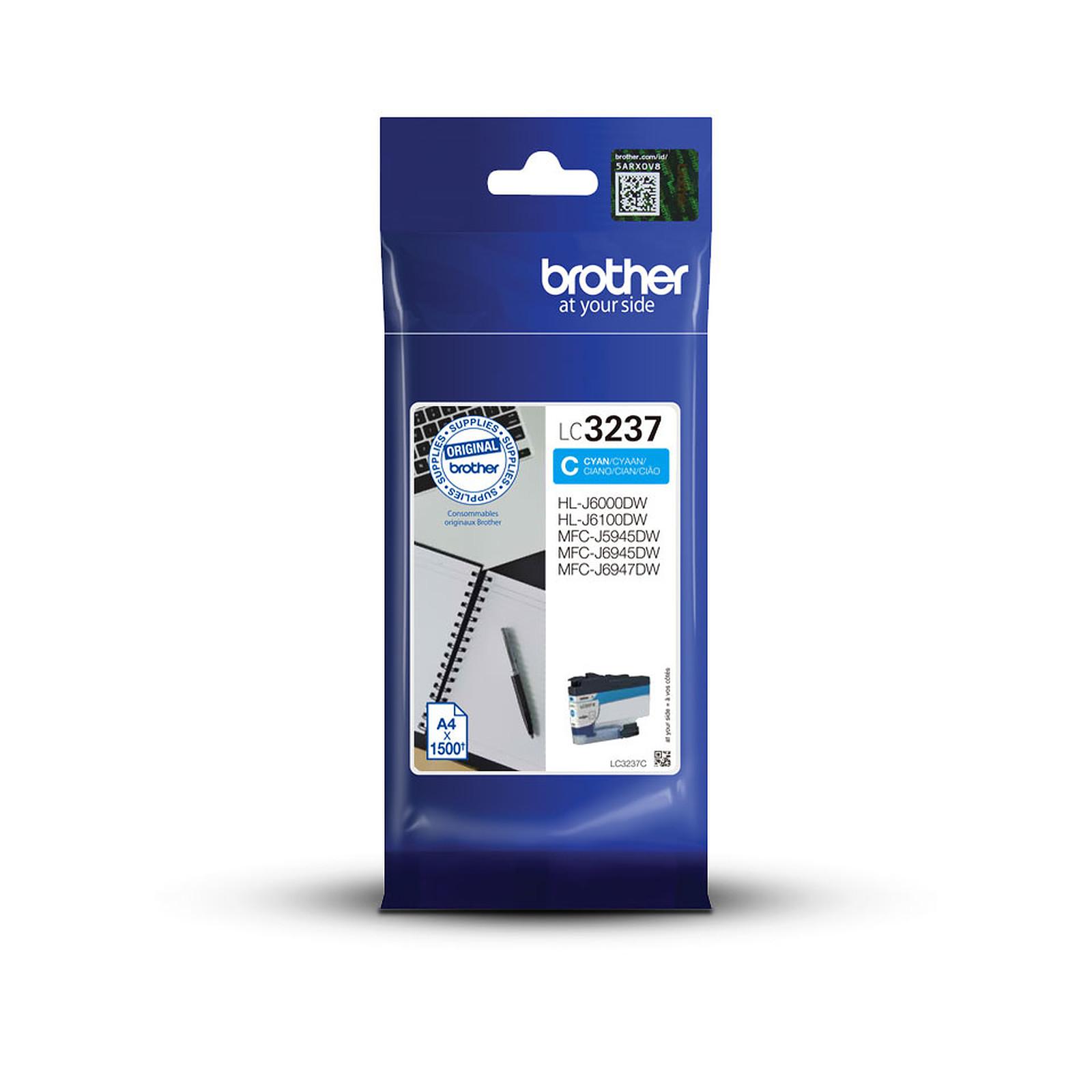 Brother LC3237C (Cyan)