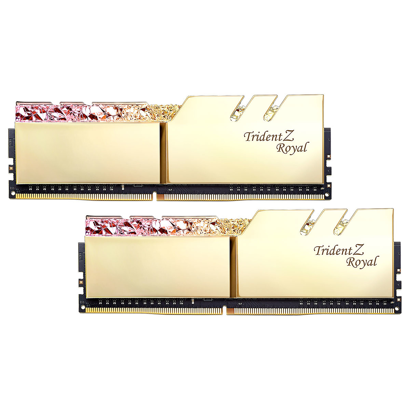 G.Skill Trident Z Royal 16 Go (2x 8 Go) DDR4 4600 MHz CL18 - Or
