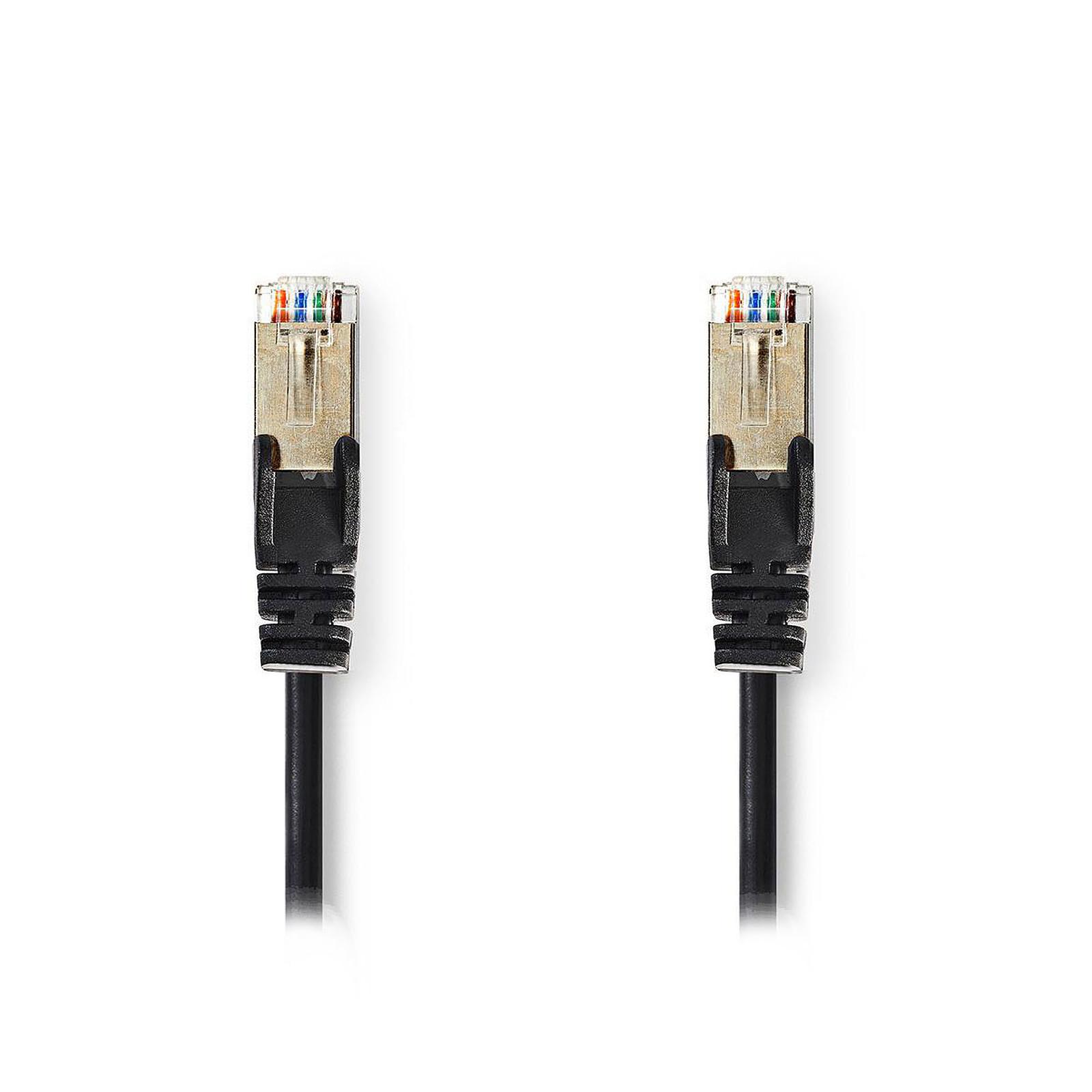 Nedis RJ45 categoría de cable 5e SF/UTP 1 m (Negro)