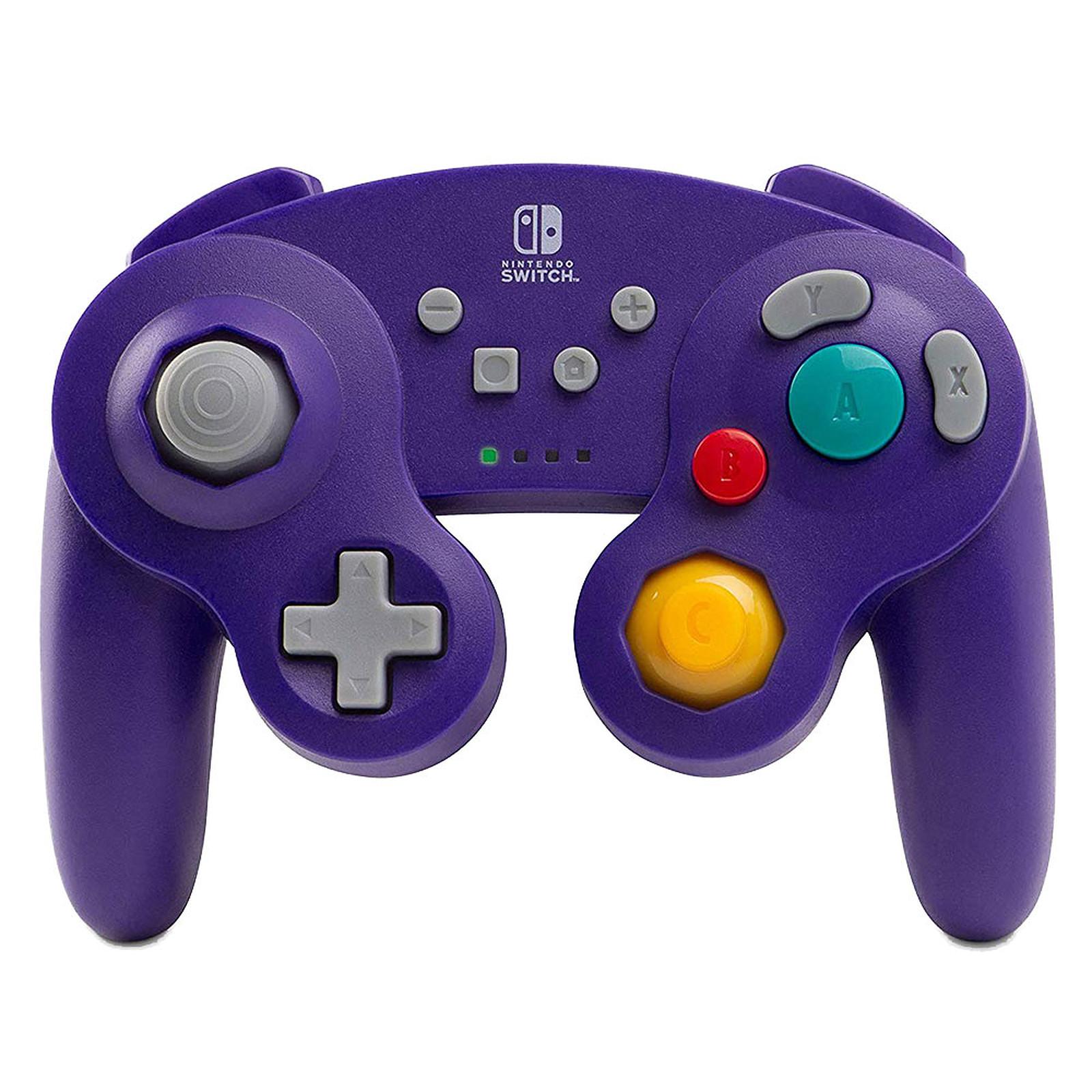 PowerA Nintendo Switch GameCube Wireless Controller Violet
